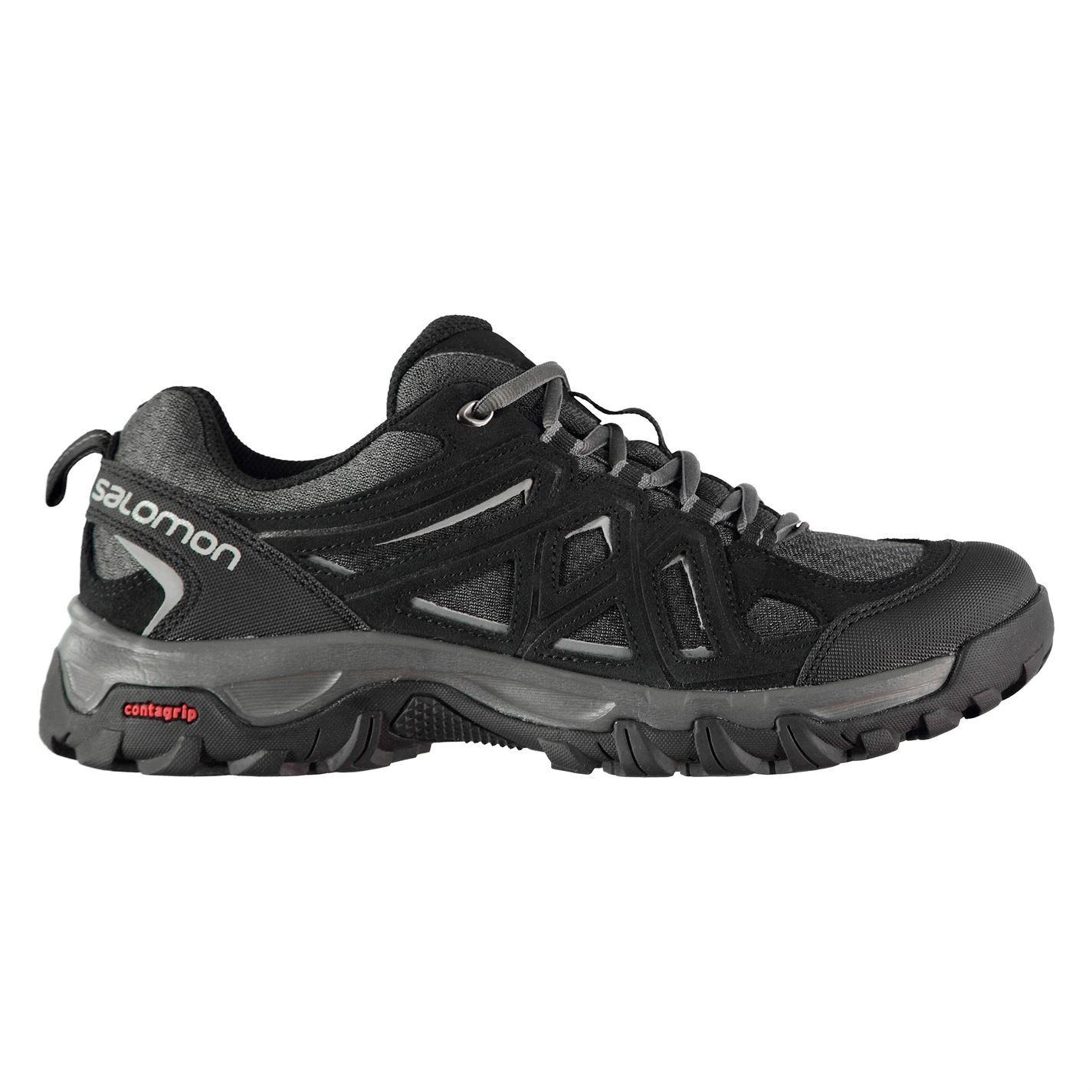 Details about Salomon Evasion 2 Aero Mens Walking Shoes Trainers Black Footwear Sneakers
