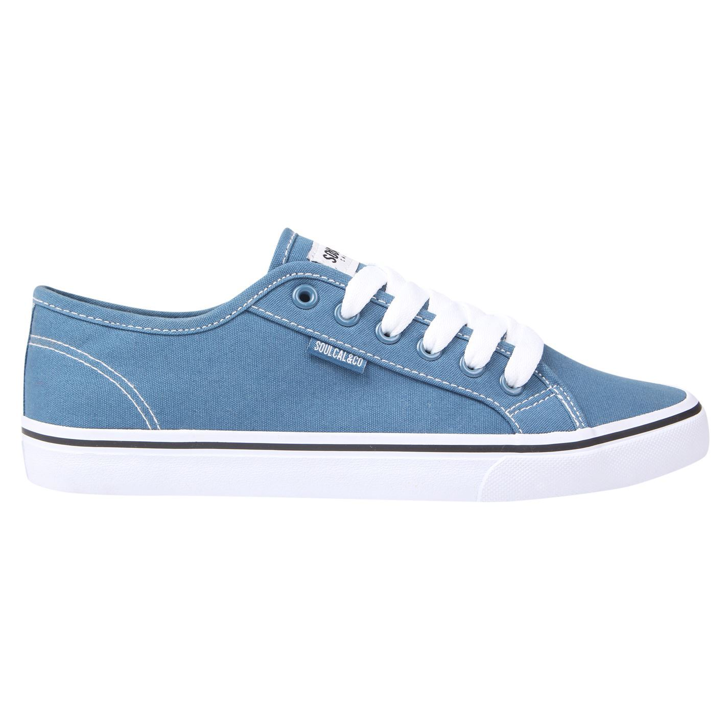 d989002794f1 ... SoulCal Sunrise LC Canvas Shoes Mens Footwear Trainers Sneakers ...