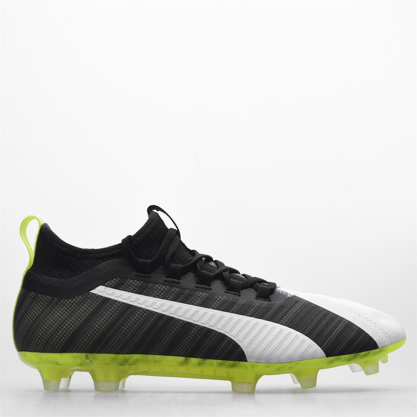 miniature 16 - Puma-5-2-FG-Firm-Ground-Football-Bottes-Homme-Chaussures-De-Foot-Crampons-Baskets