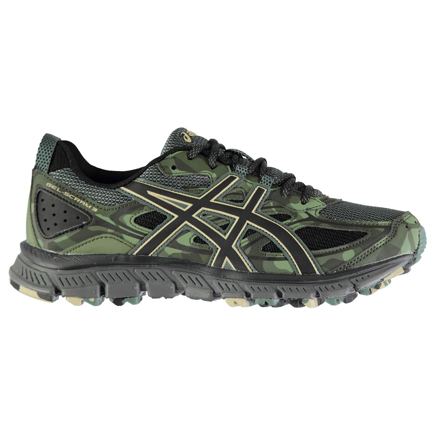 best service 164a3 600b2 Asics Gel Scram 3 Running Shoes Mens Fitness Jogging ...