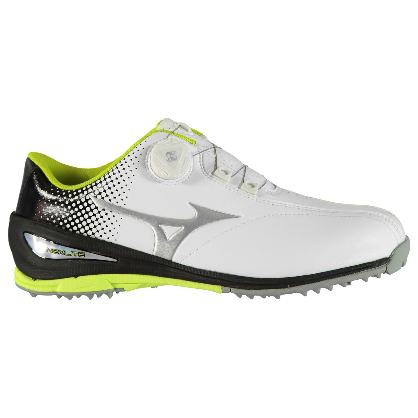 2137d5a2bc5b Mizuno-Nexlite-BOA-Golf-Shoes-Mens-Spikeless-Footwear thumbnail