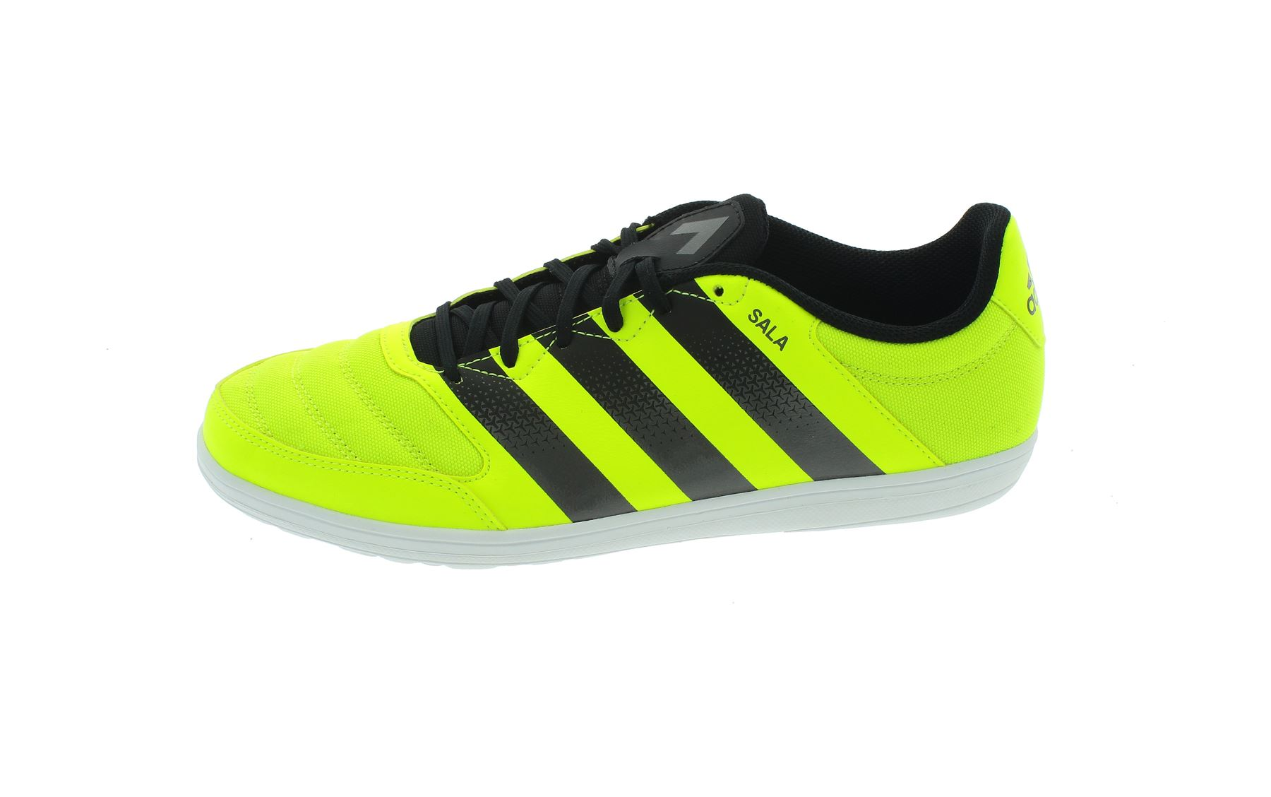best service 20d32 39248 ... adidas Ace 16.4 Street Indoor Football Shoes Mens YellowBlack Soccer  Trainers ...