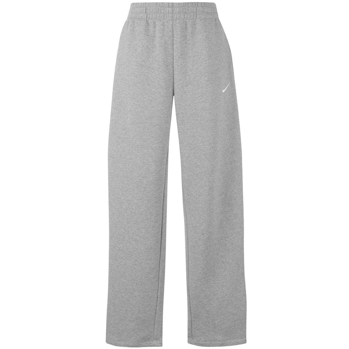 e606f4539c71 ... Nike Open Hem Jogging Tracksuit Bottoms Sweatpants Mens Grey Track  Pants Joggers ...