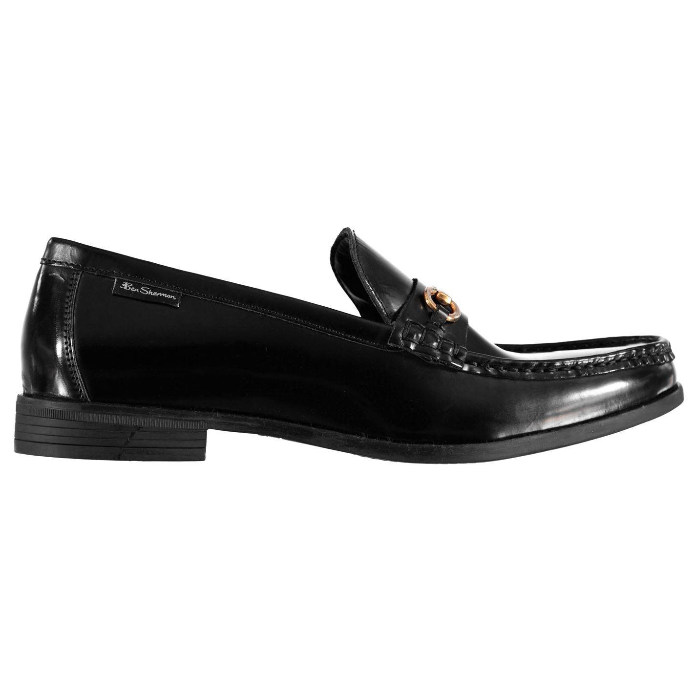 Ben-Sherman-Luca-Loafers-Slip-On-Shoes-Mens-Formal-Footwear-Flats thumbnail 3