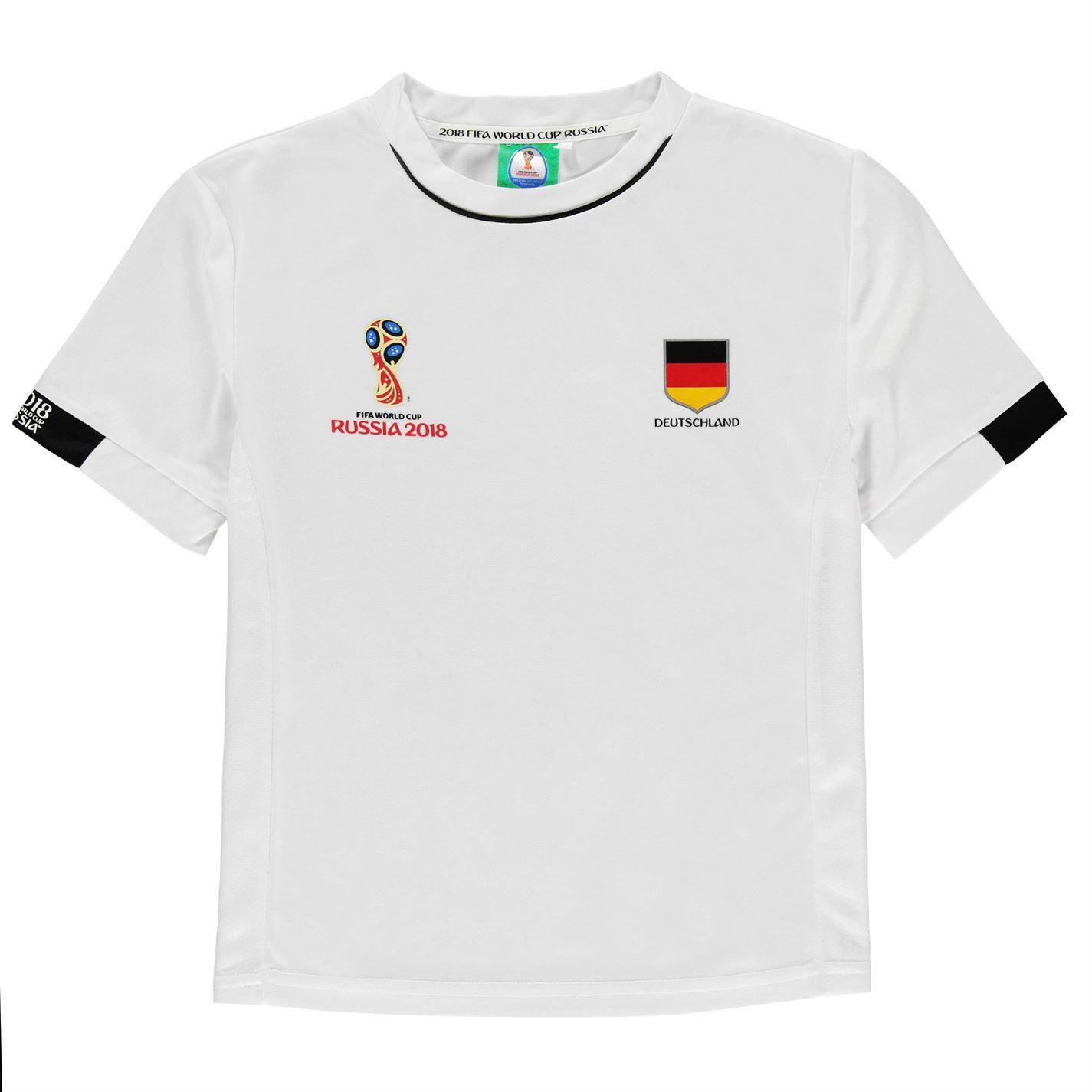 c9daec84b ... FIFA World Cup 2018 Germany T-Shirt Infants White Football Soccer Top  Tee ...