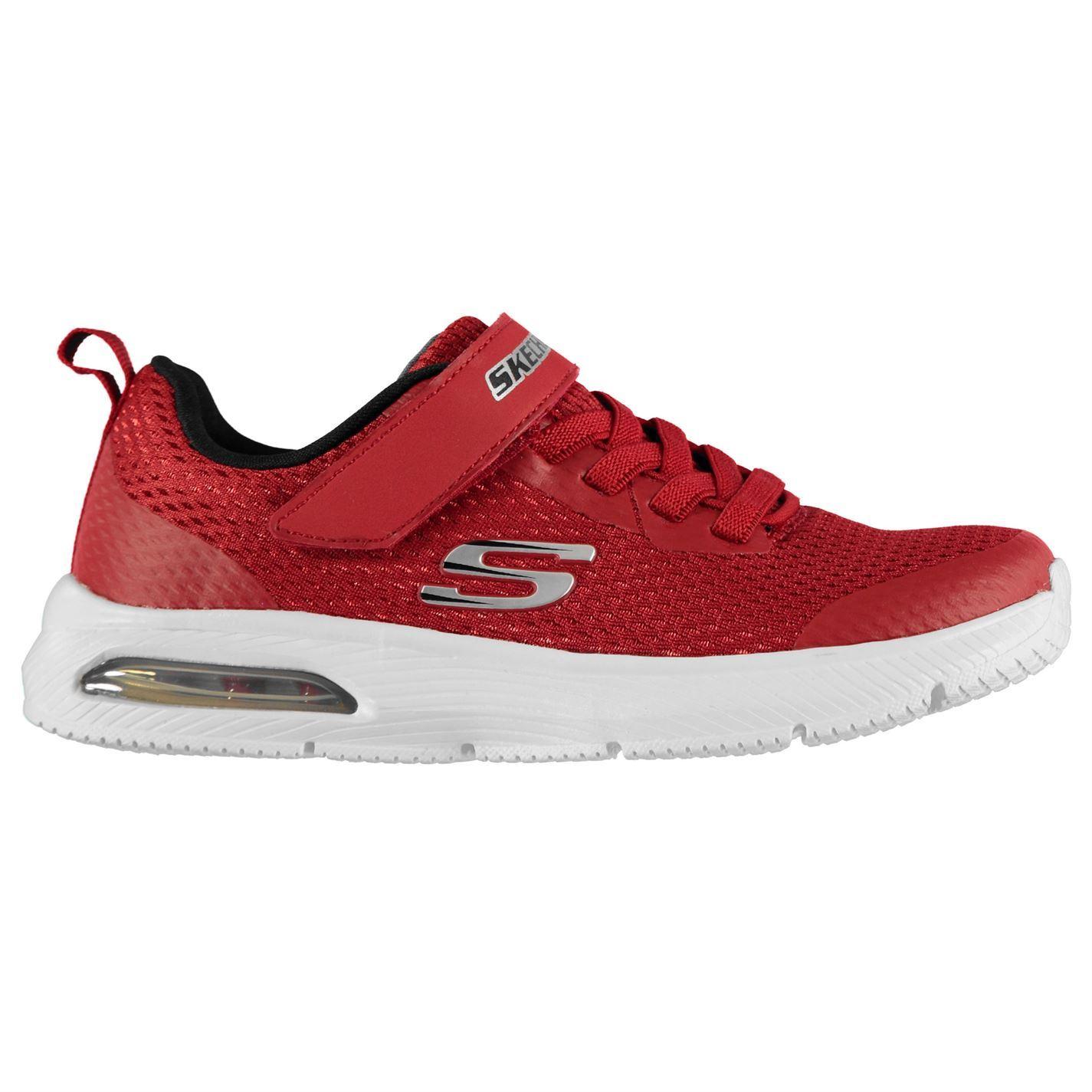 vente chaude en ligne df019 f6ed5 Détails sur Skechers Dynaair Basket Enfant Garçons Chaussures Course  Athleisure