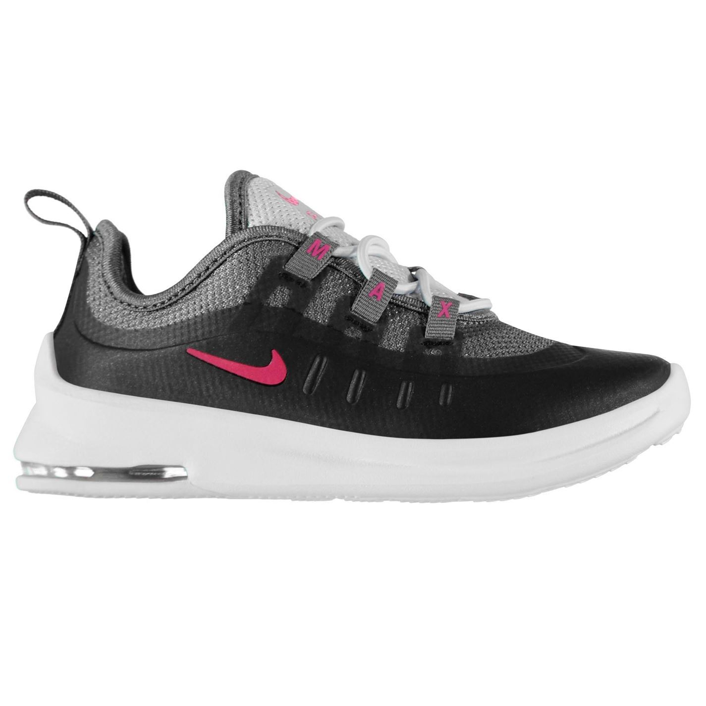 45eb0b051f Details about Nike Air Max Axis Infant Girls Black/Pink Shoes Footwear