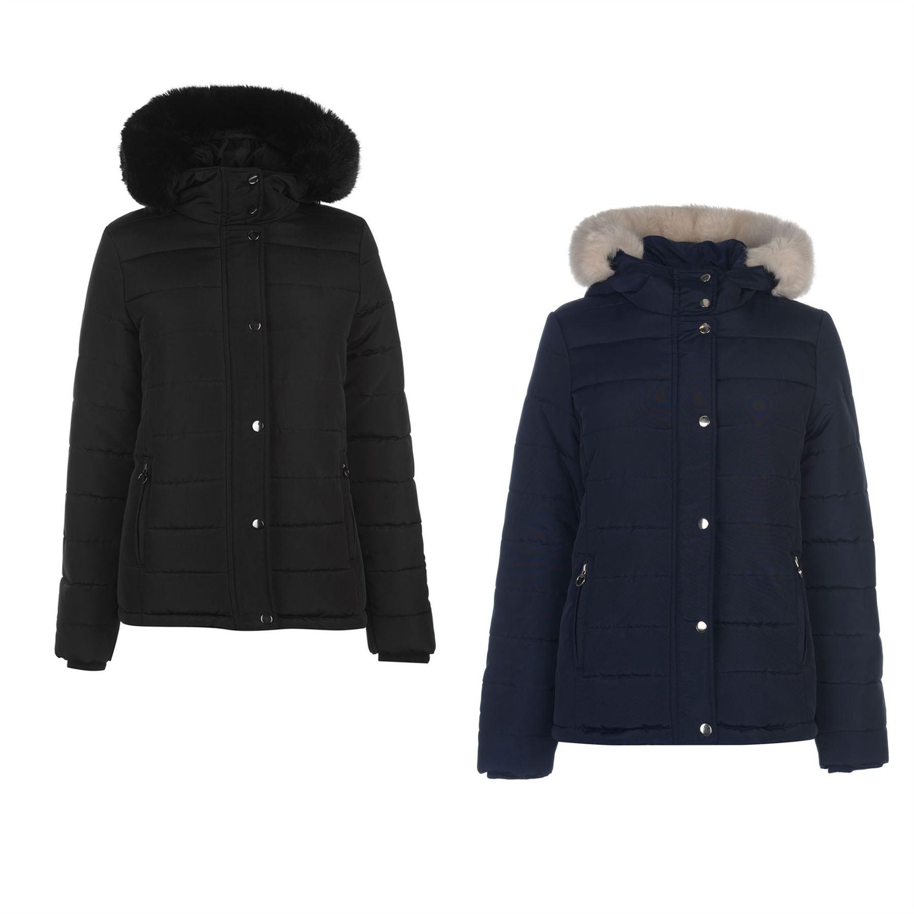 Details about Golddigga Bubble Jacket Womens Coats Outerwear Clothing