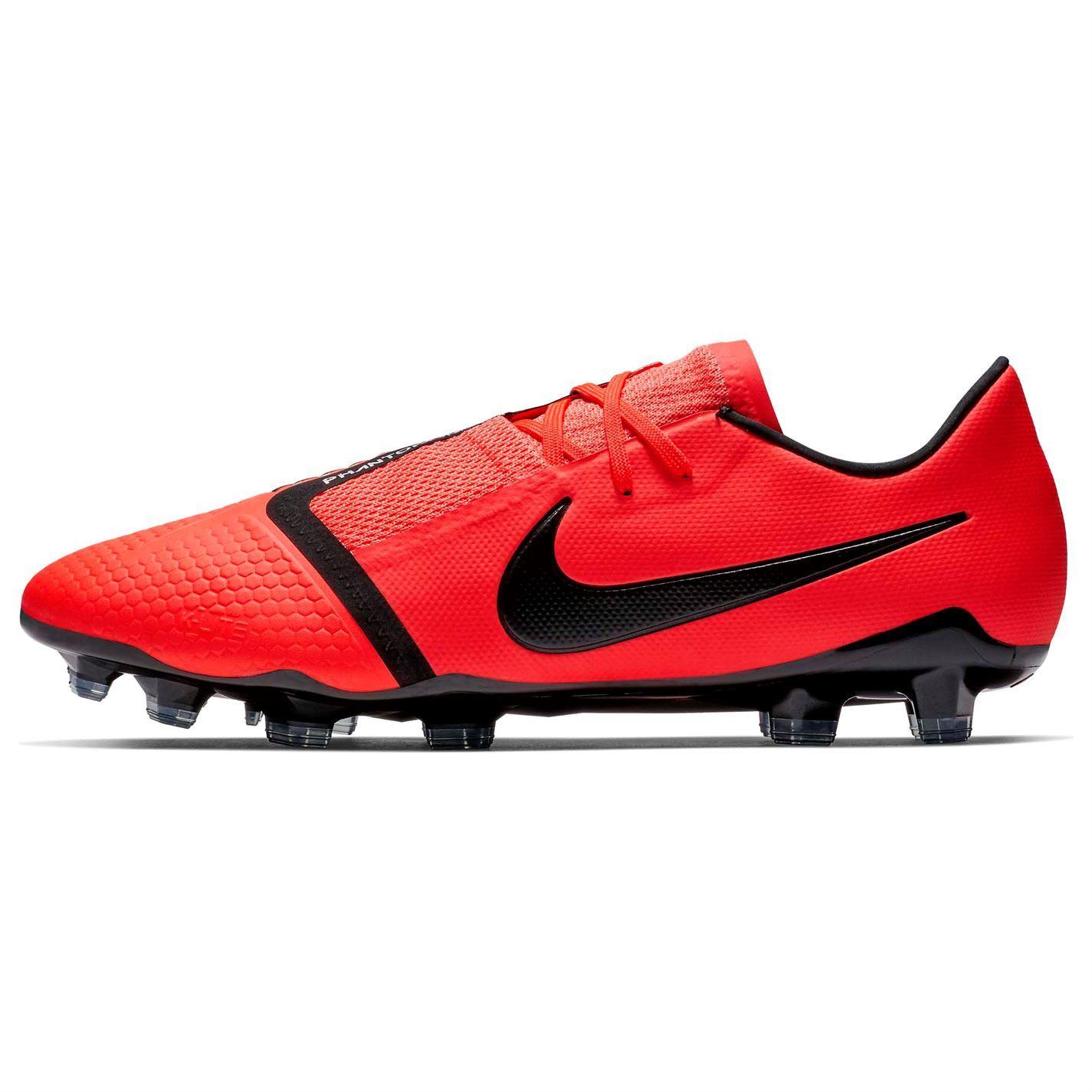 Dettagli su Nike Phantom Venom pro Fg Scarpe da Calcio Uomo CremisiNero Tacchetti