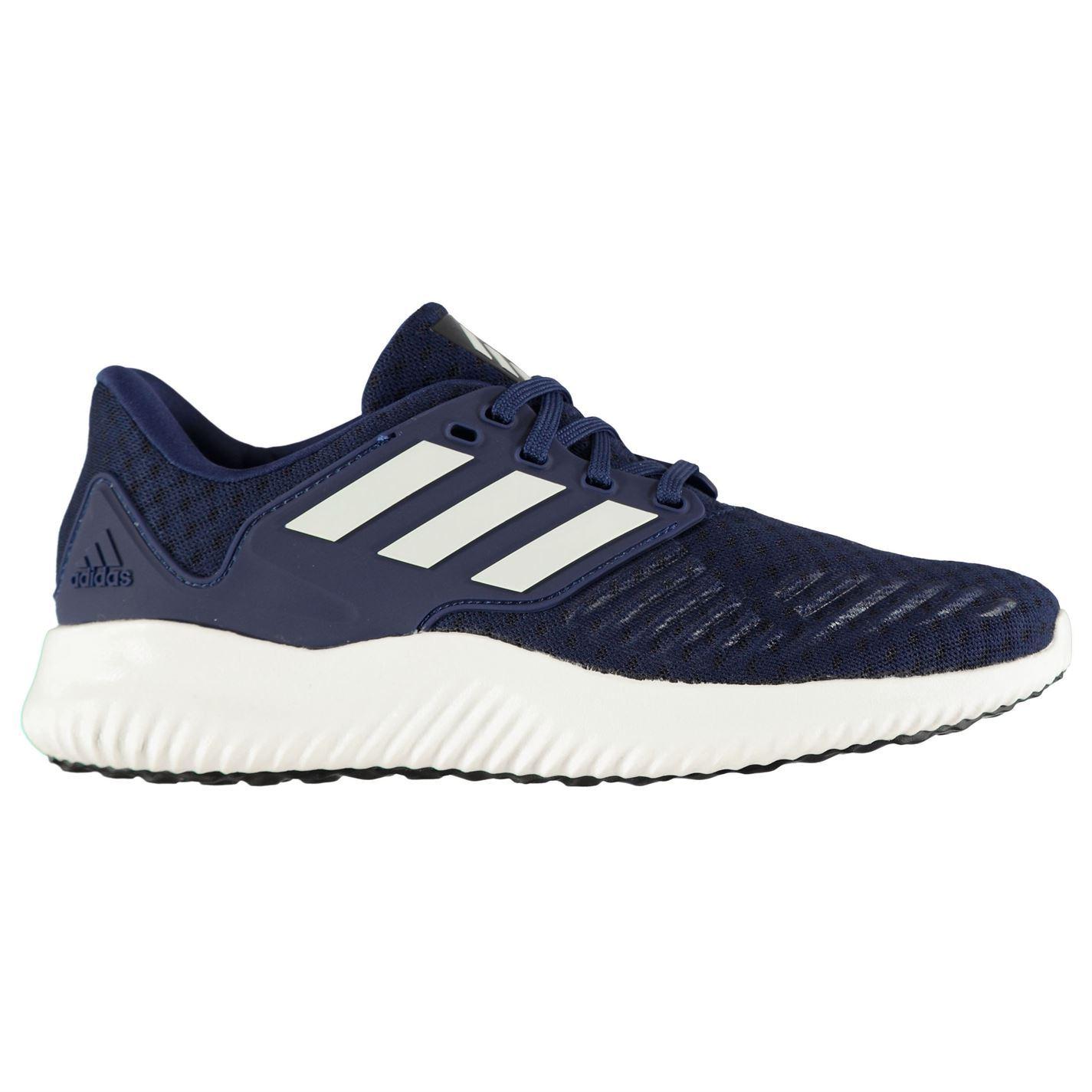 presentación precio atractivo lista nueva Detalles de Adidas Alpha Rebotar Zapatillas Running Hombre Fitness Trote  Zapatillas
