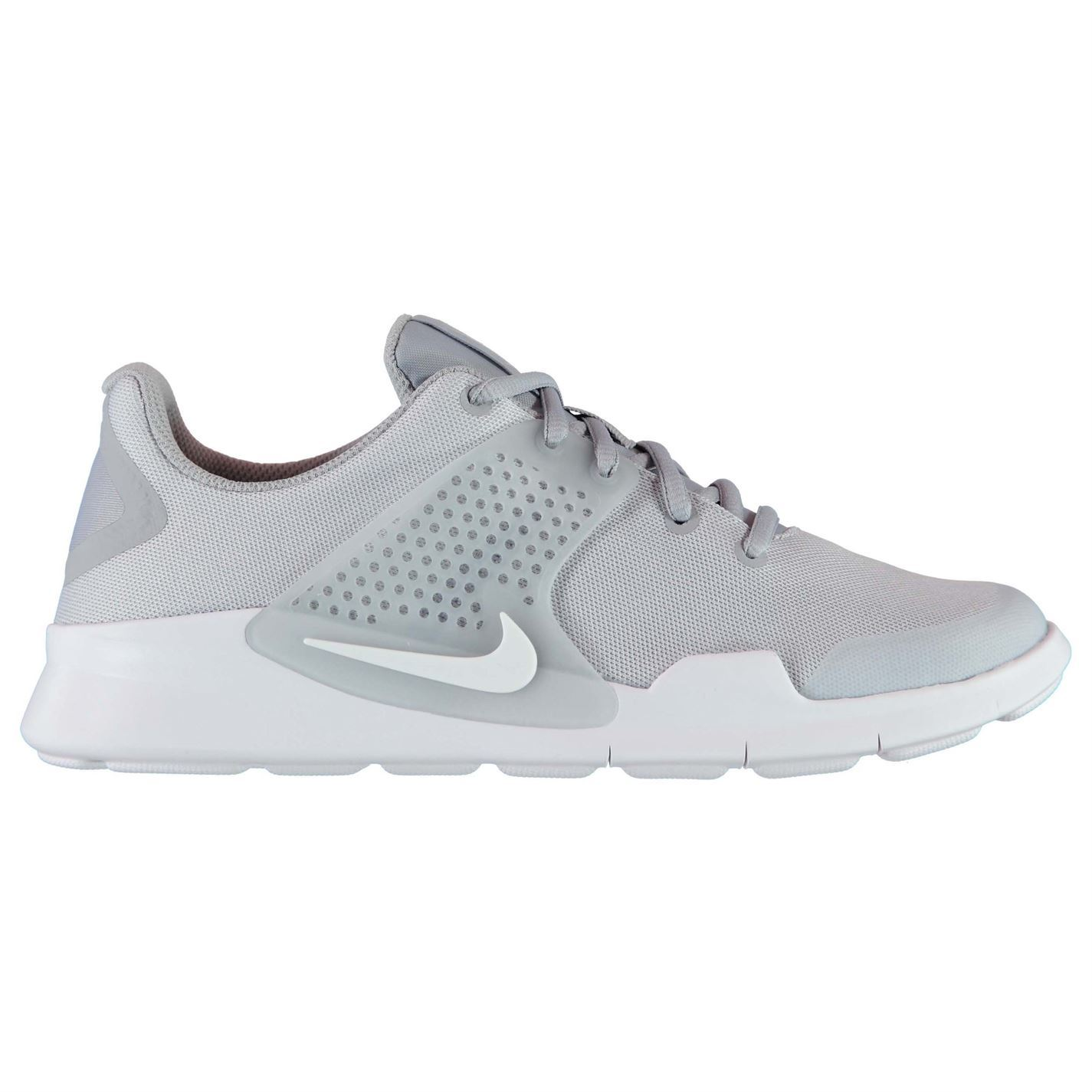 Nike Athletic Arrowz Trainers Mens Grey/White Athletic Nike Sneakers Shoes 390656