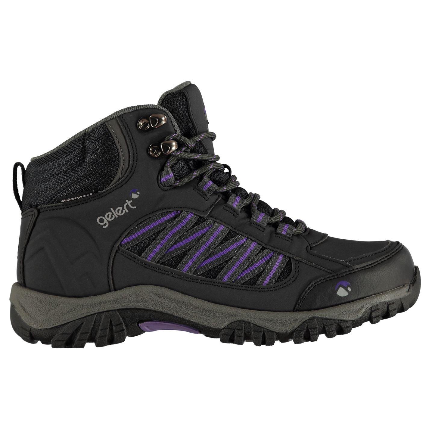 cdff0def047 Details about Gelert Horizon Mid Waterproof Walking Boots Womens Hiking  Trekking Shoes
