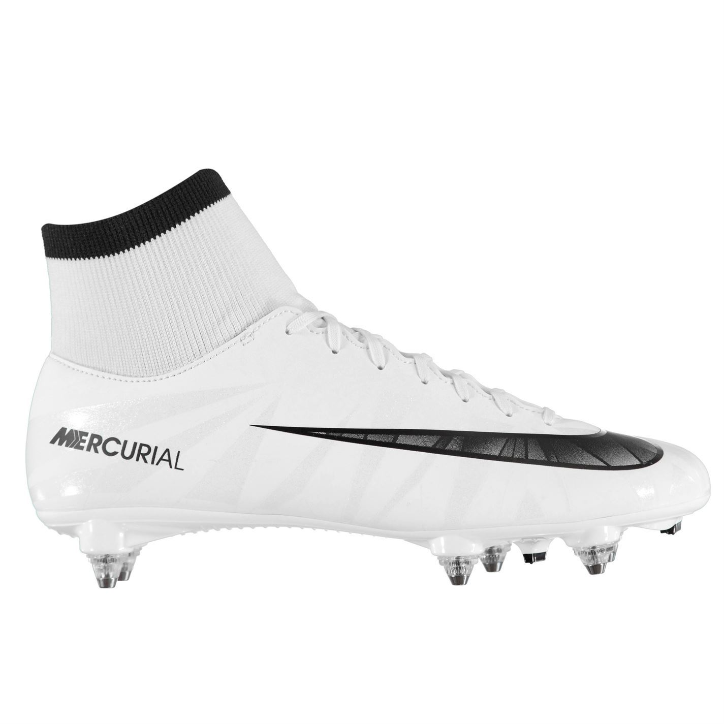 the best attitude cb699 f7258 ... Nike Mercurial Victory CR7 DF Soft Ground Football Boots Mens Blue  Soccer Cleats ...