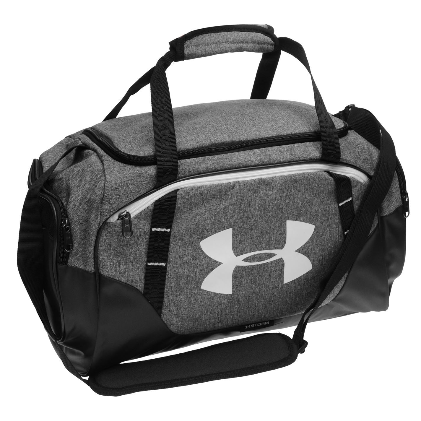 6462f0ed059 Details about Under Armour Undeniable 3 Duffle Bag Grey Kitbag Gymbag  Holdall Carryall