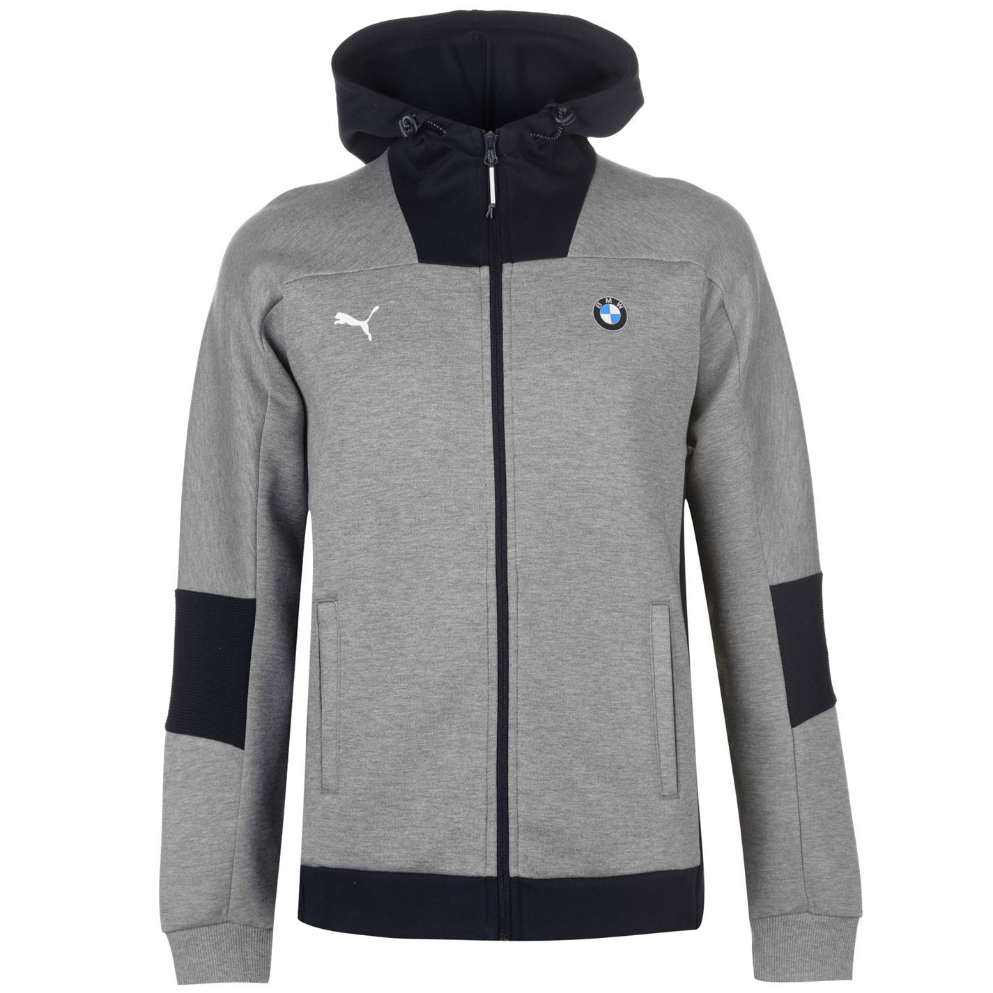 7f0f67106e9 ... Puma BMW Motorsport Full Zip Hoody Jacket Mens Hoodie Sweatshirt  Sweater Top