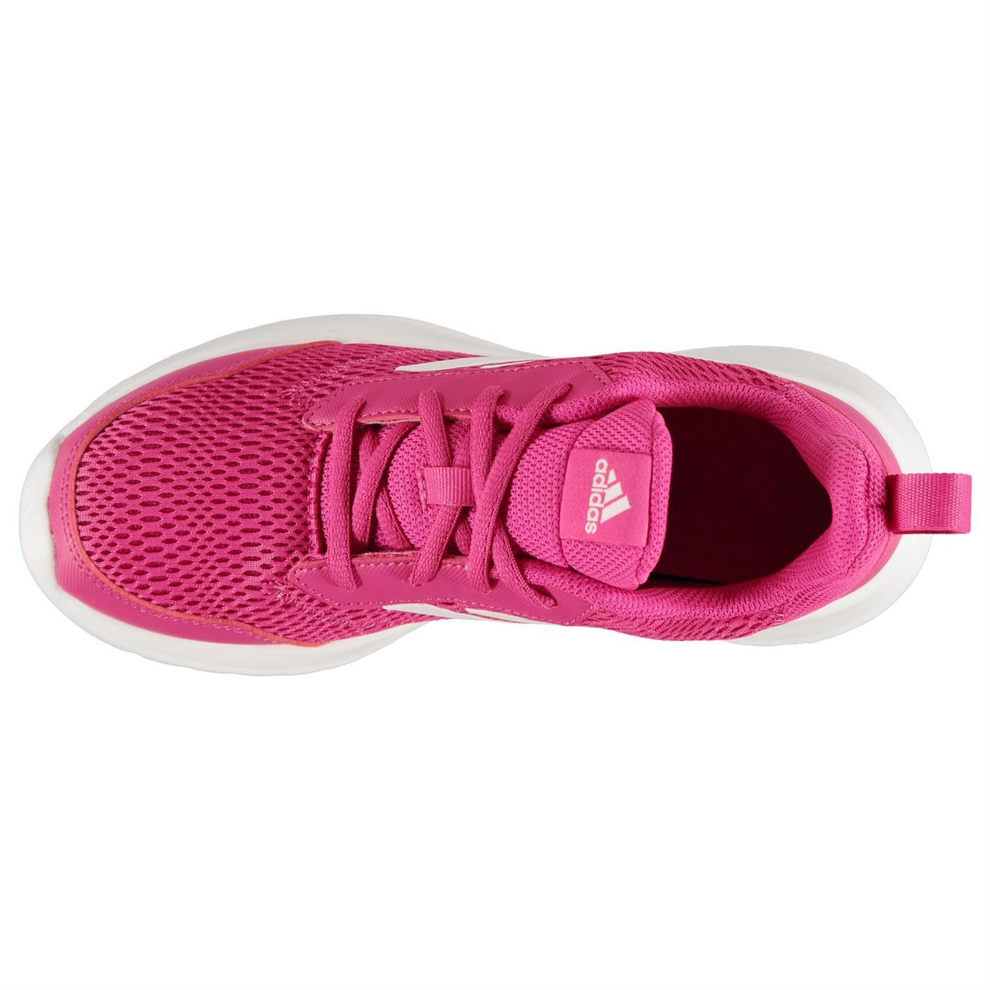 Details about adidas Alta Run Girls Trainers PinkWhite Shoes Footwear