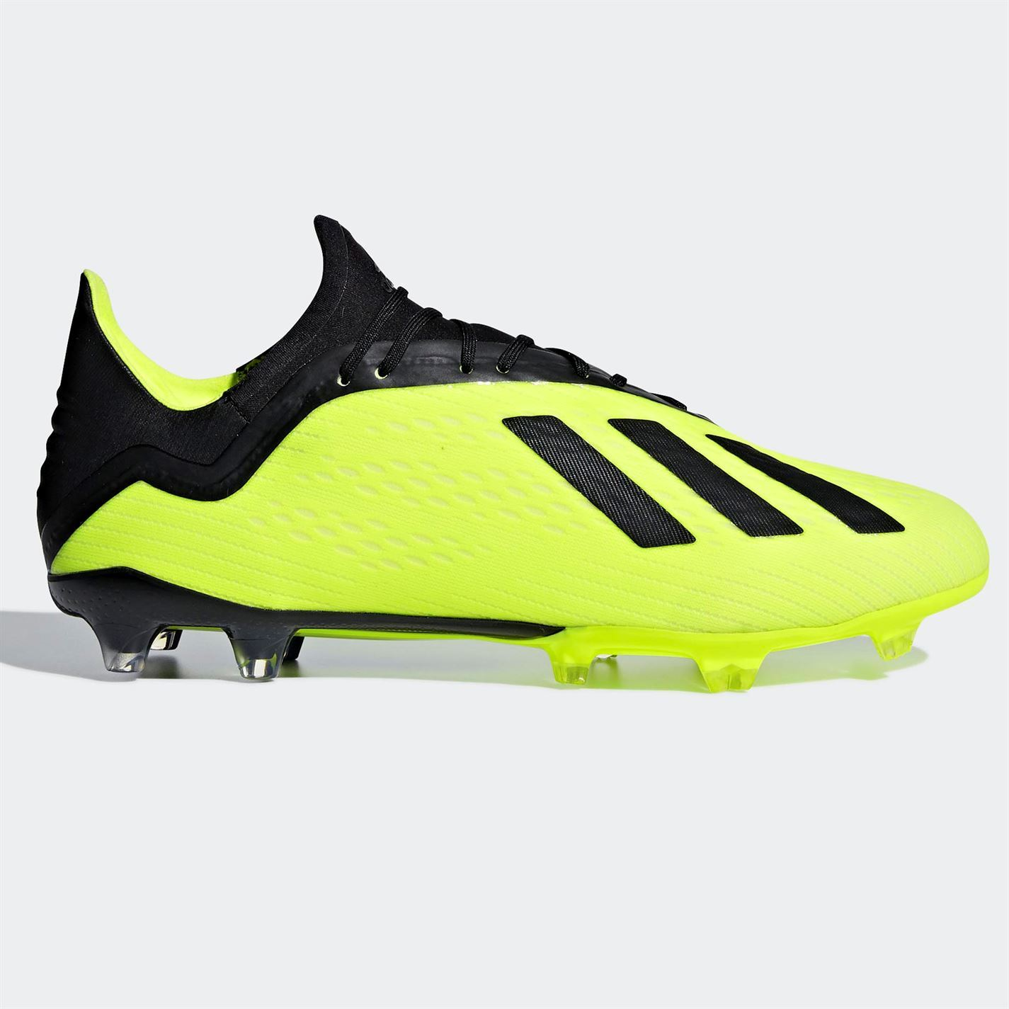 7f7c1502548 adidas X 18.2 FG Firm Ground Football Boots Mens Soccer Shoes Cleats ...