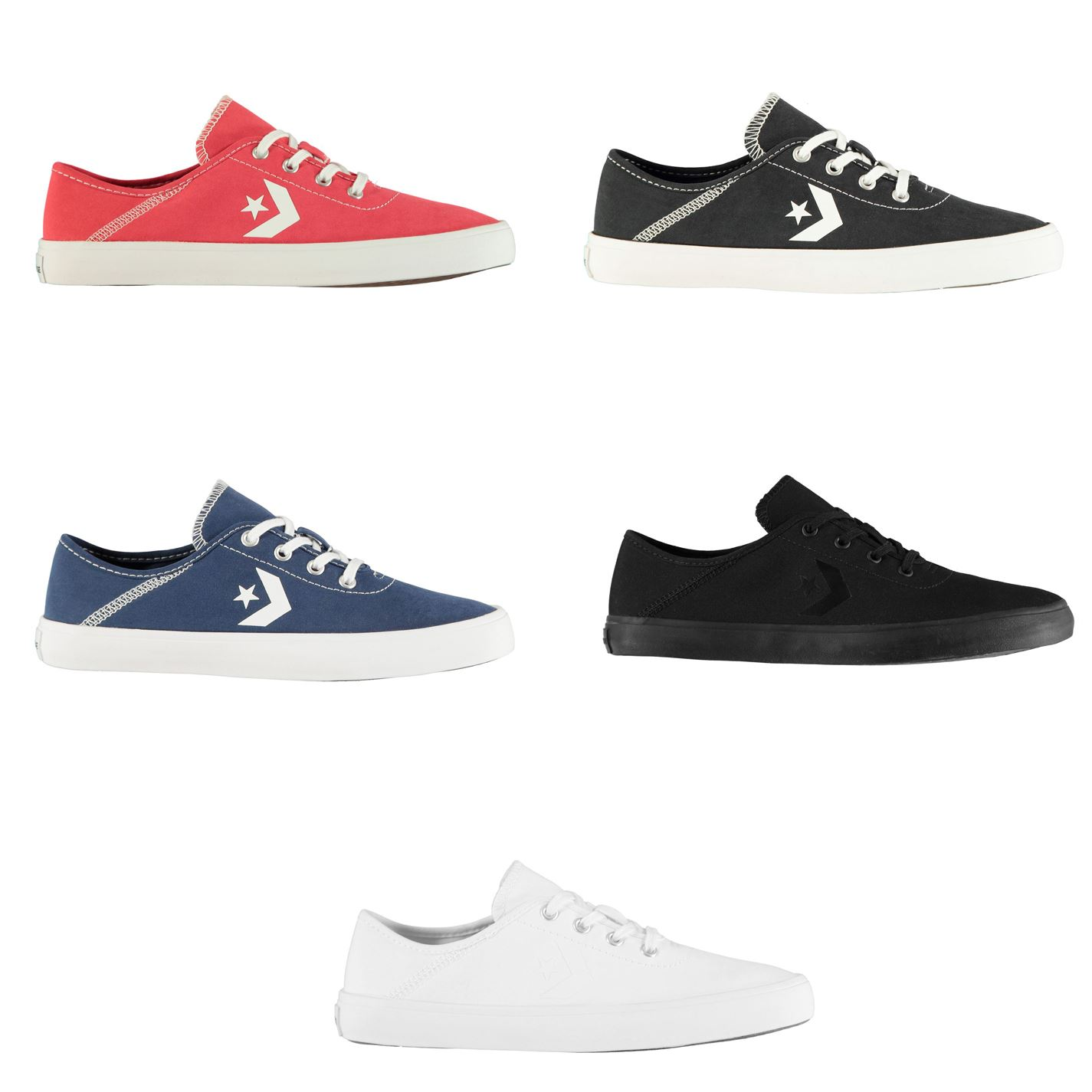Converse Ox Costa Womens Trainers Shoes