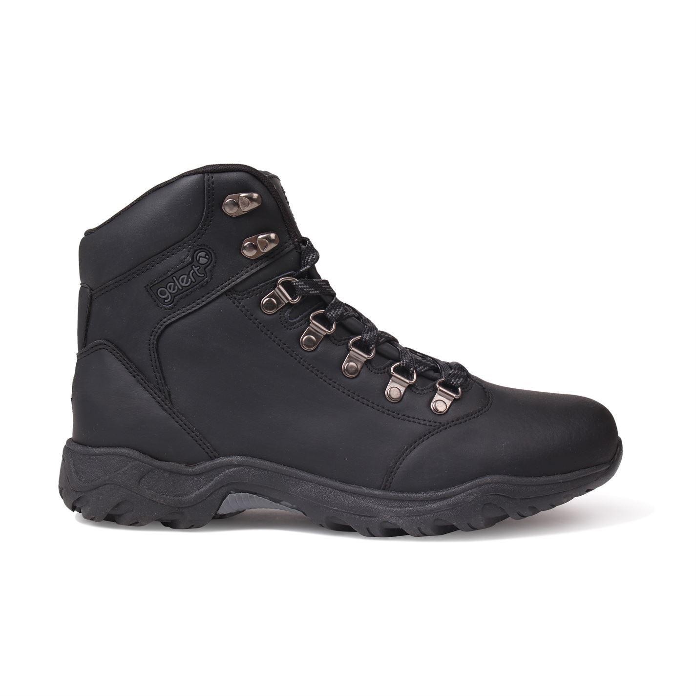 Gelert Gelert Gelert Leder Walking Stiefel  Herren Hiking Trekking Schuhes Footwear bba656
