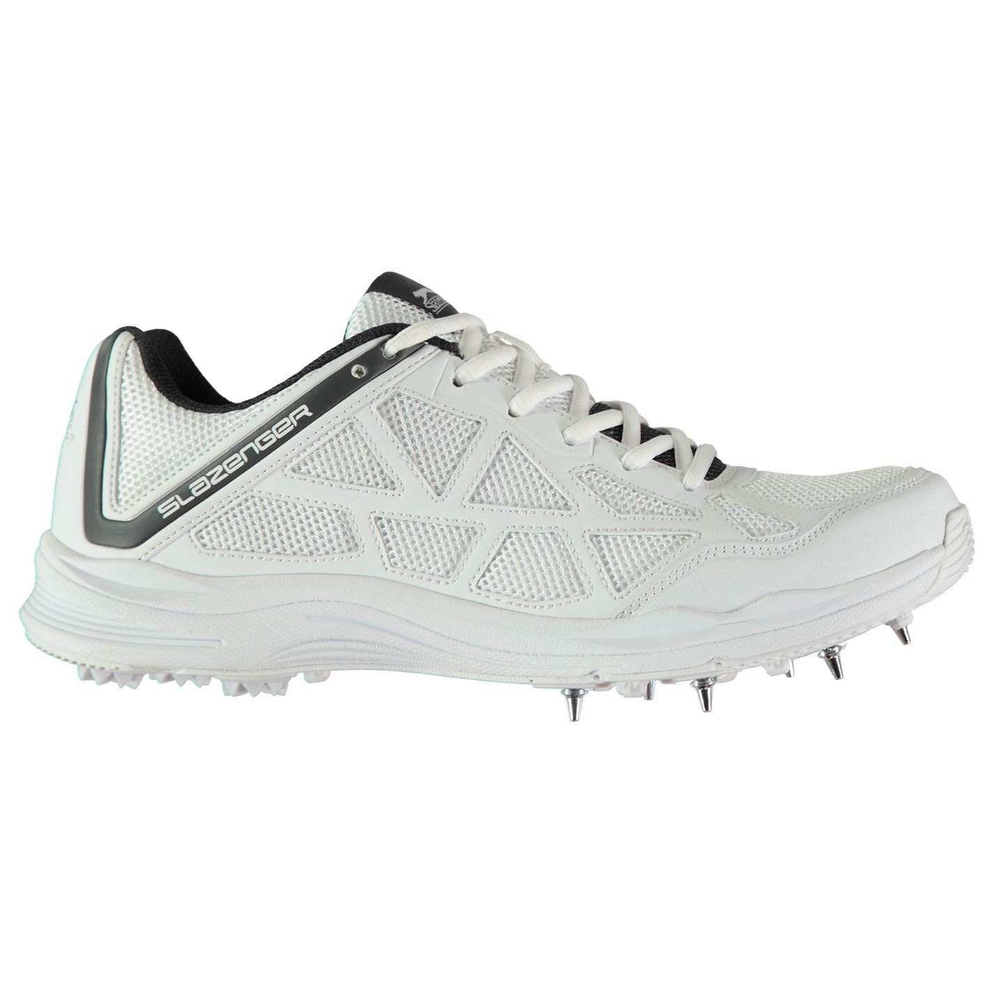 Kookaburra Rampage 500 Cricket Shoes Mens Gents Spikes Laces Fastened Mesh Upper