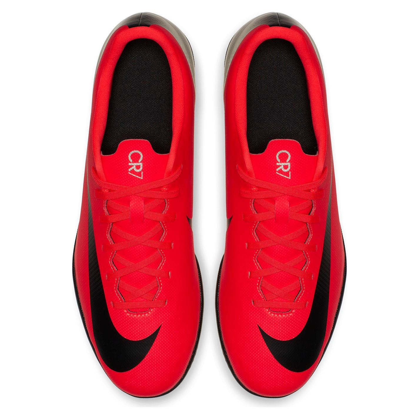 948670e4f461b Nike Mercurial Vapor Club CR7 Indoor Football Trainers Mens Red Soccer Shoes