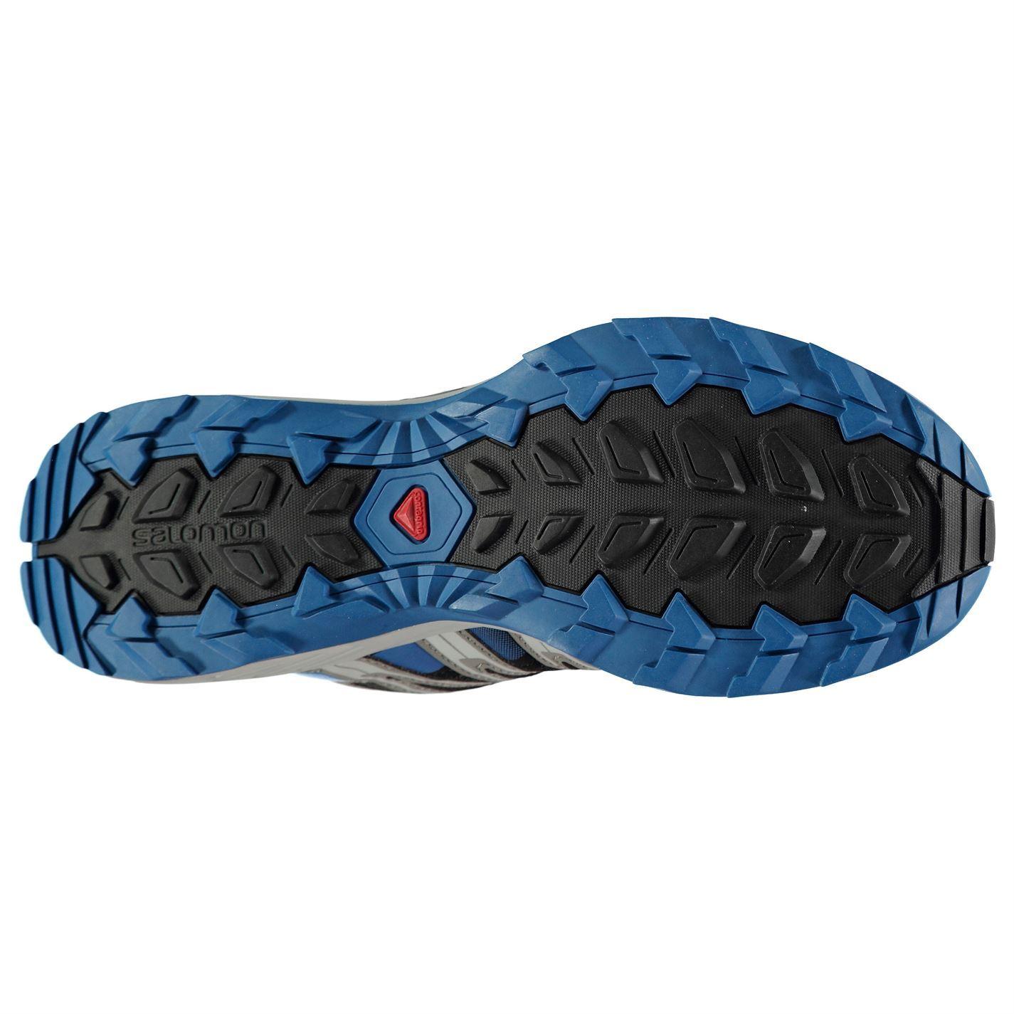 Detalles de Salomon Xa Lite Trail Running Zapatos Hombre Negro Fitness Trote Zapatillas