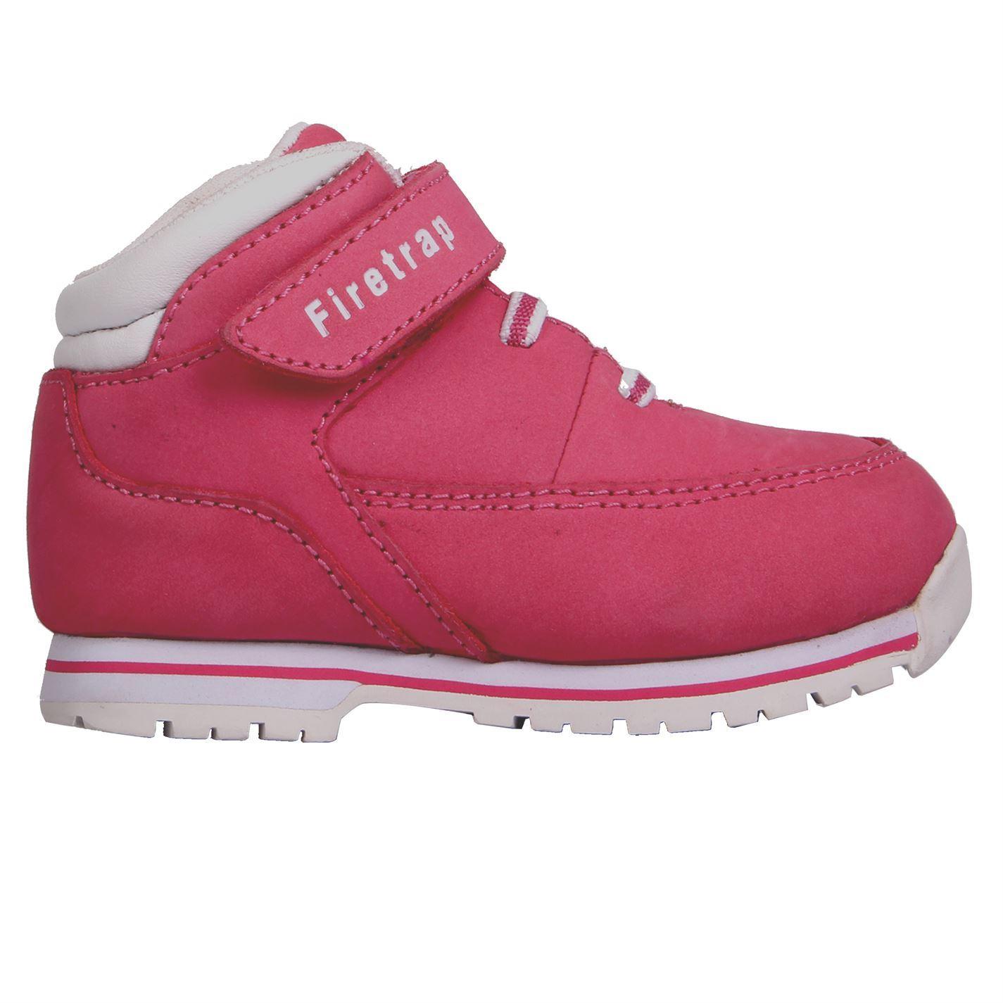 Firetrap Rhino Boots Infants Girls Pink