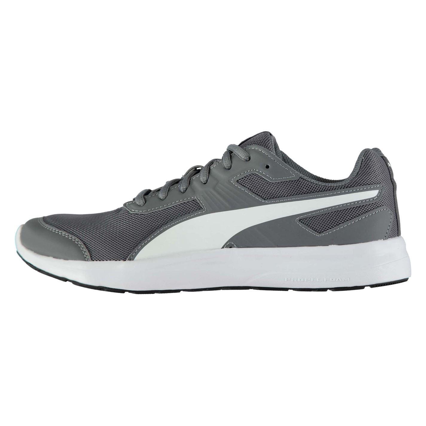 e4747577ef4 ... Puma Escaper Mesh Trainers Mens Grey Athletic Sneakers Shoes ...