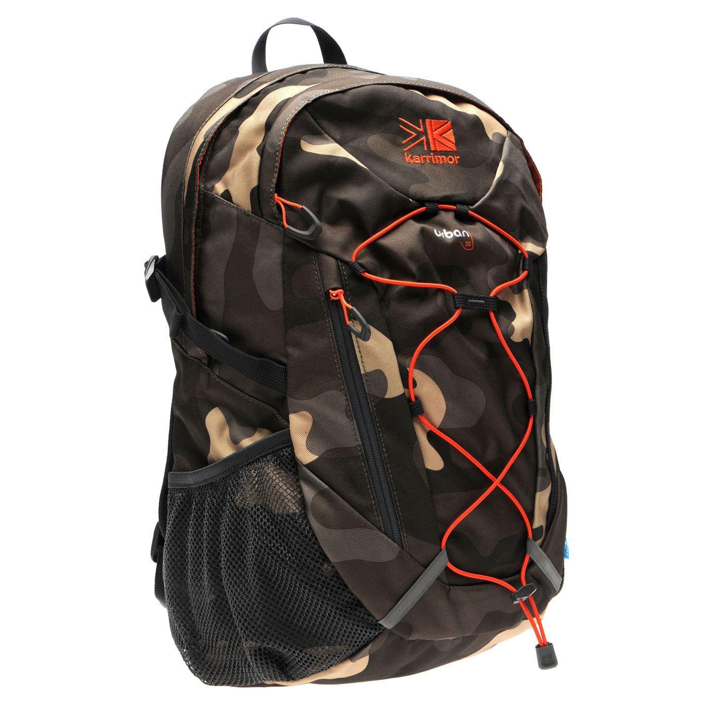 9c294a0c90 Karrimor Urban 30 Litre Rucksack Camouflage Orange Bag Backpack Carryall