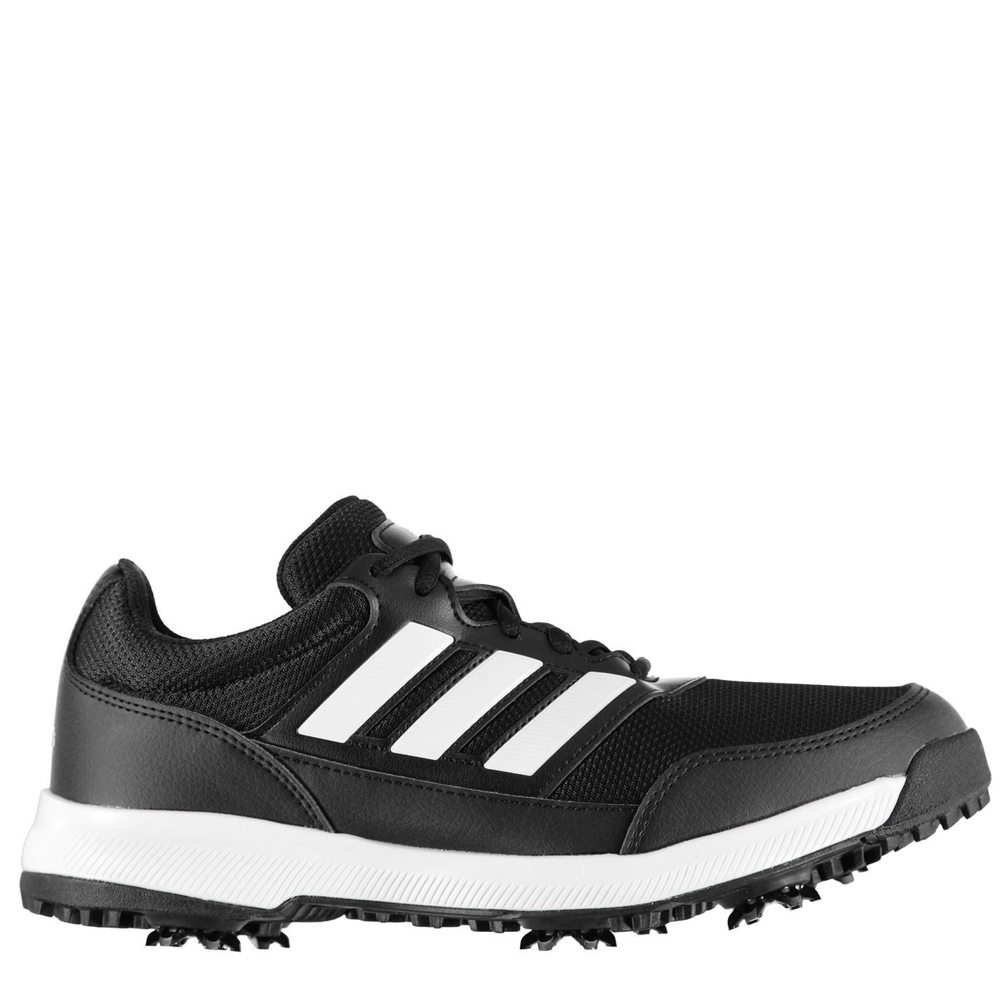 Adidas Tech Response 2 0 Mens Golf Shoes Spiked Changeable Stud Laced Trainers Ebay