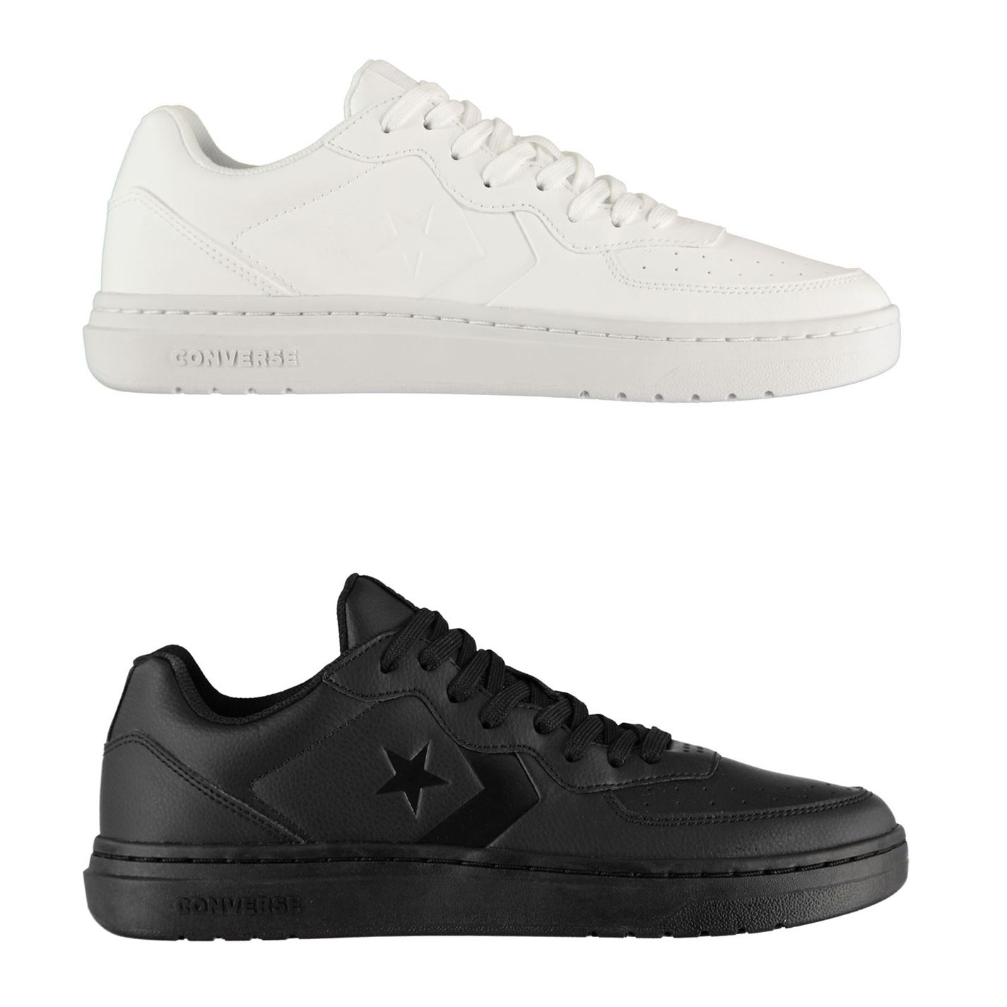 Converse Ox Rival Leather Trainers Mens