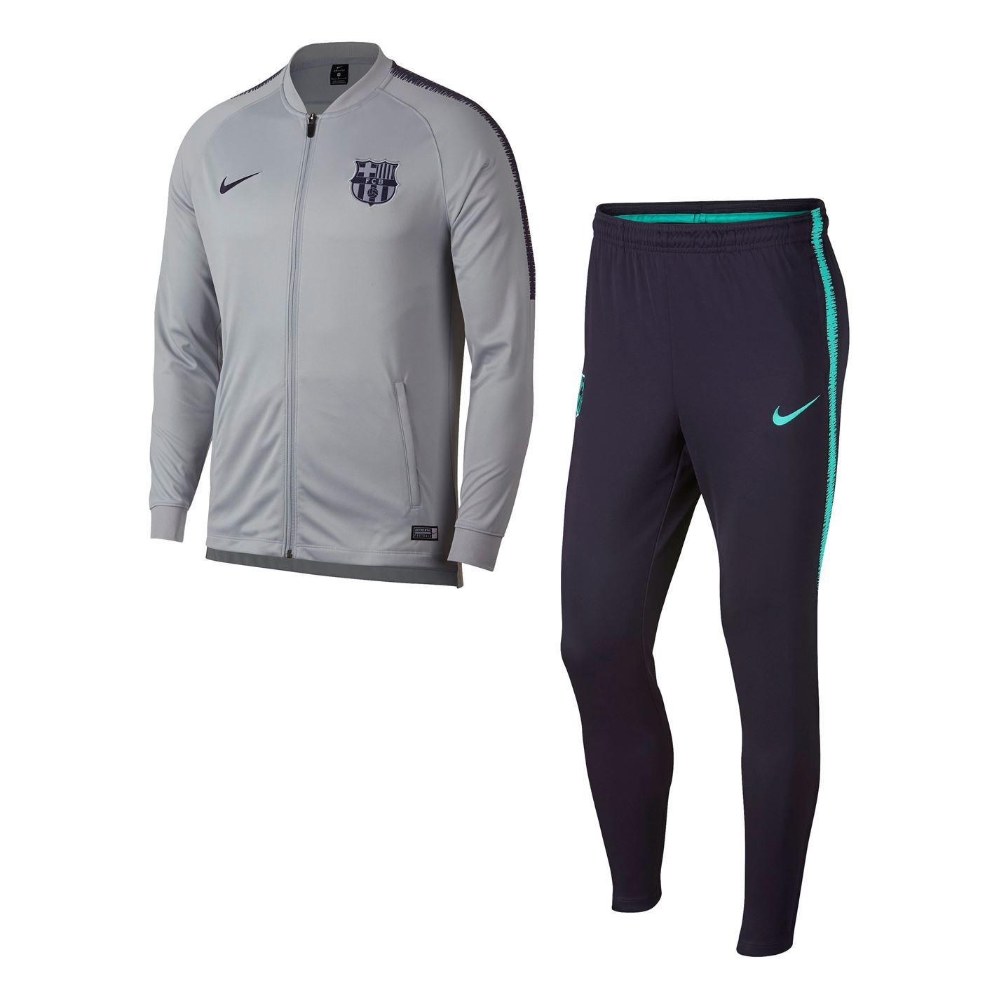 Hombre Chándal Escuadrón Para Barcelona Fútbol 2 Pieza Nike 61YqPq
