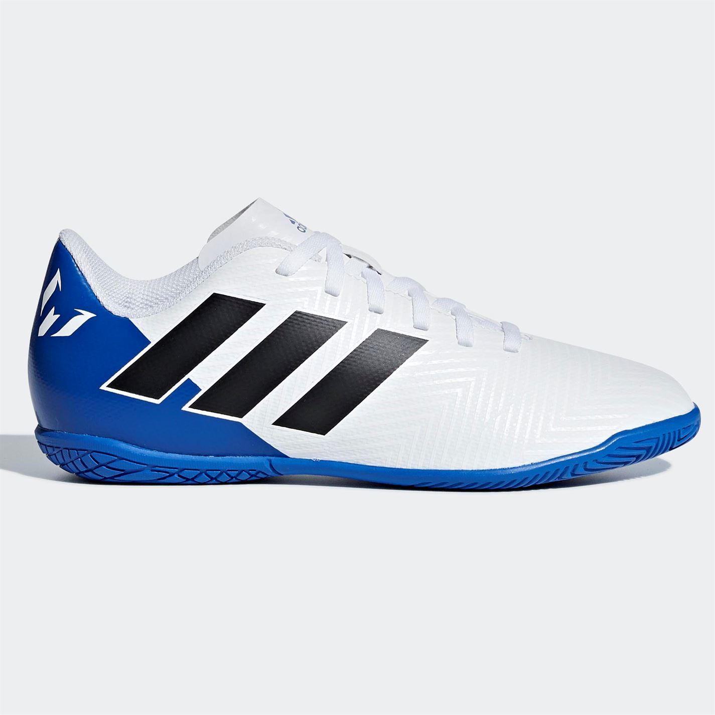f38e0ab462aa adidas Nemeziz Messi Tango 18.4 Indoor Football Trainers Juniors ...