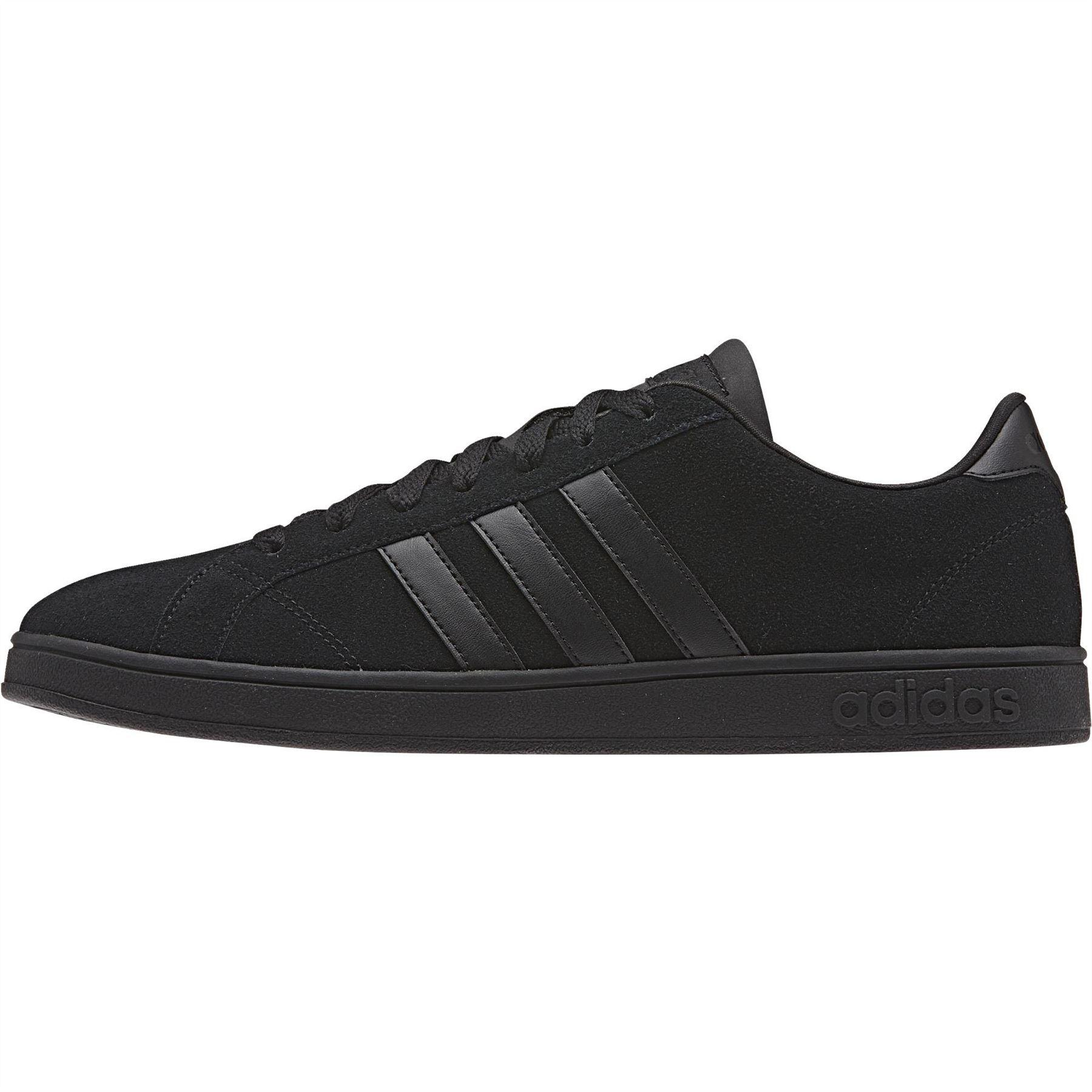 ... adidas neo Baseline Trainers Mens Black Casual Fashion Sneakers Shoes  ... fe8aae3e0e8