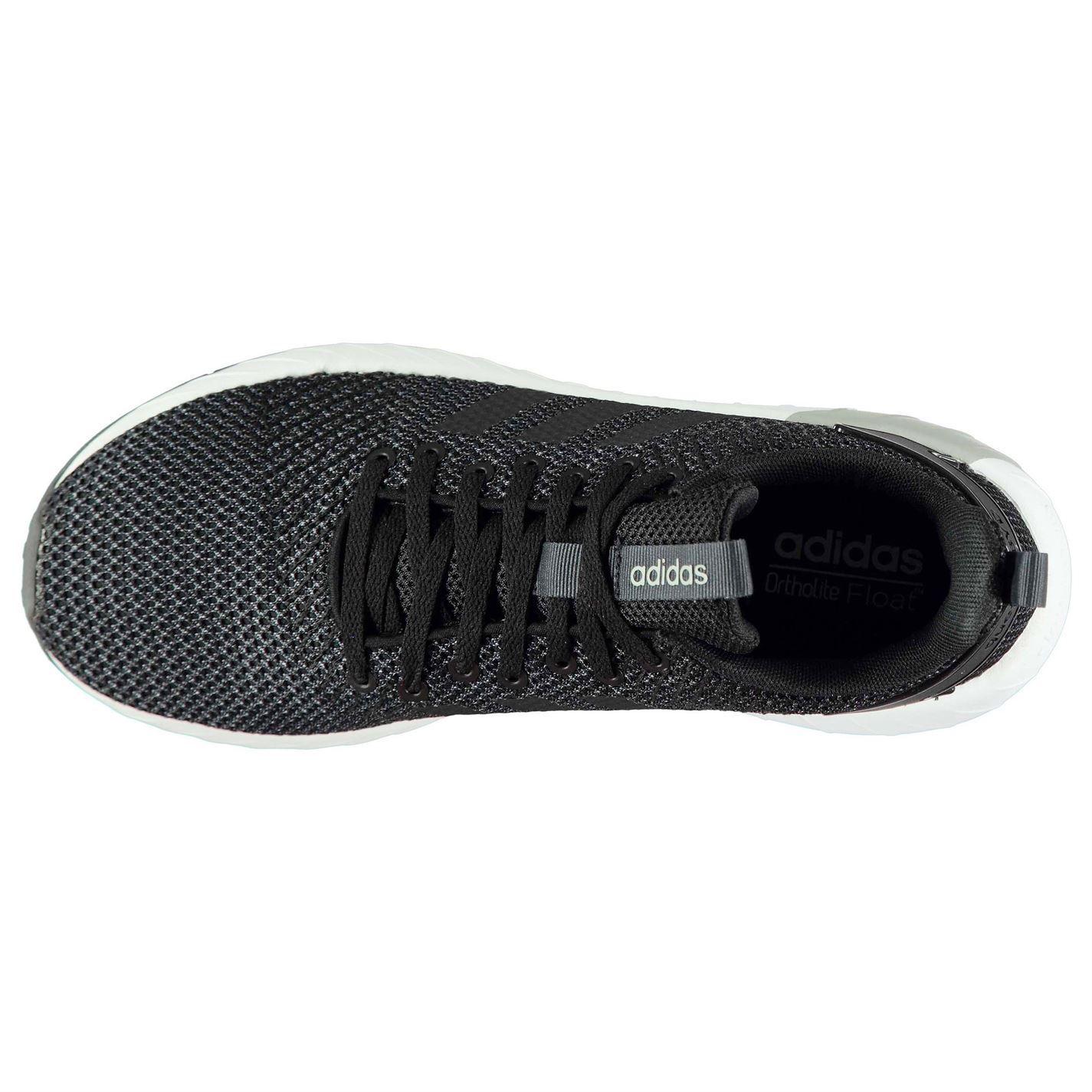 adidas questar da 82 formatori mens nero / bianco / carbonio atletica