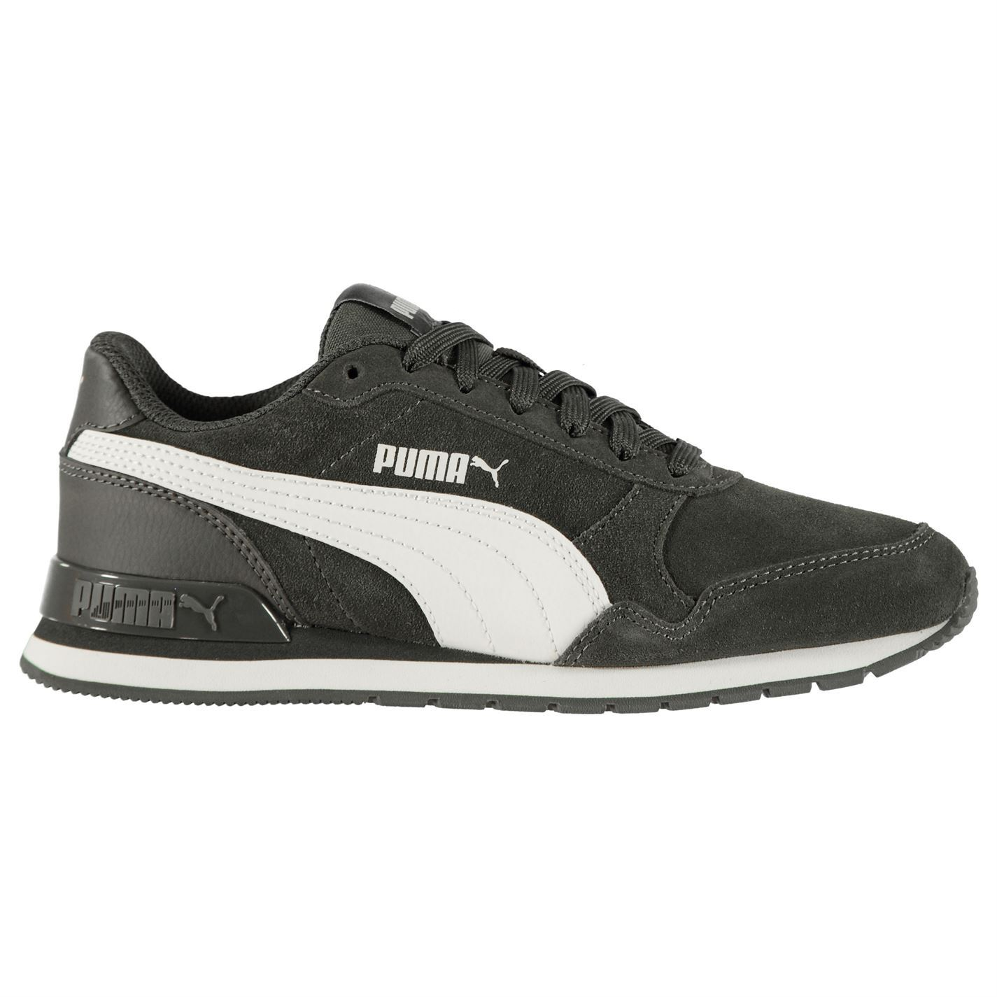 Details about Puma ST Runner v2 Suede Trainers Juniors Boys Shoes Sneakers Kids Footwear