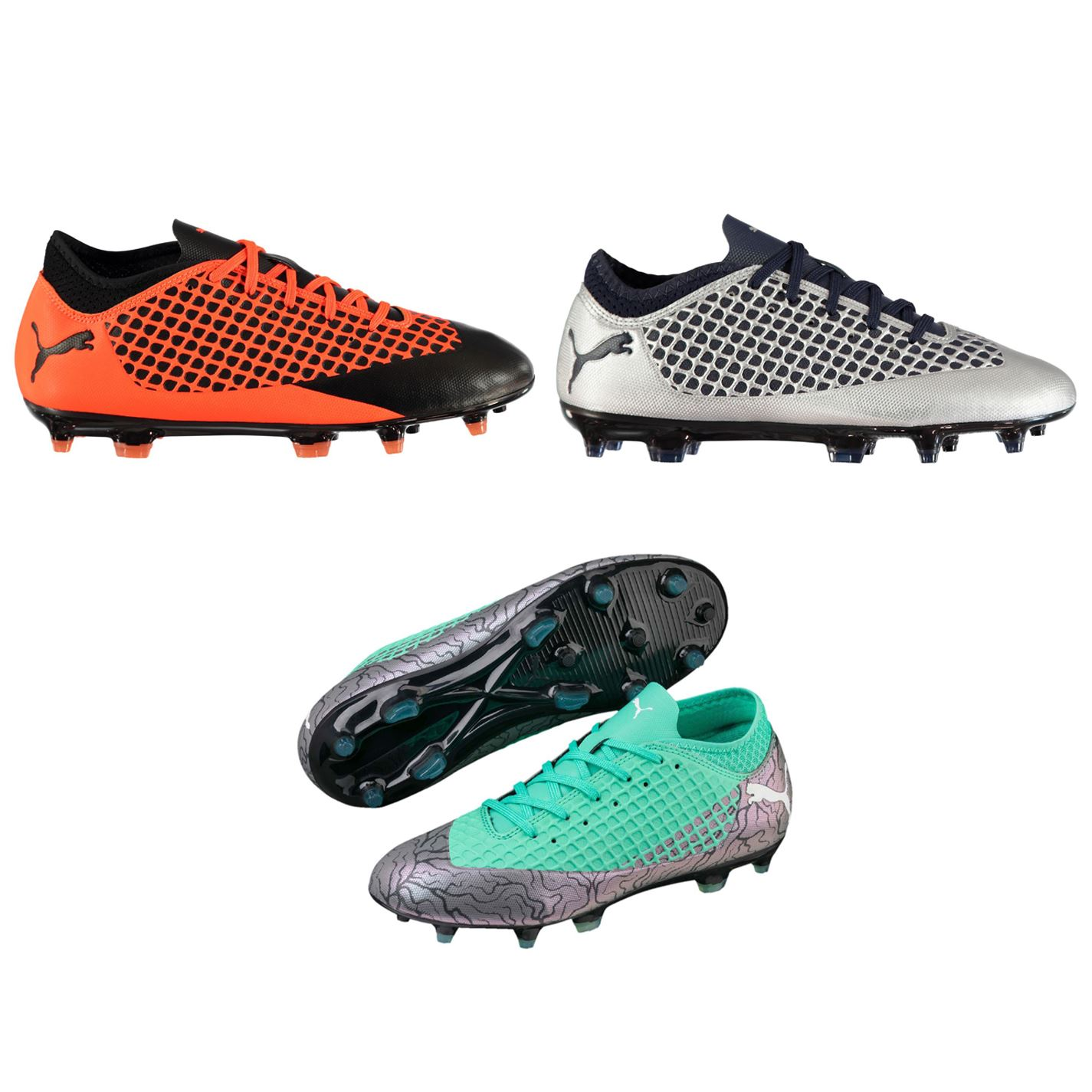 5cf98f7f3cab ... Puma Future 2.4 FG Firm Ground Football Boots Juniors Soccer Shoes  Cleats ...