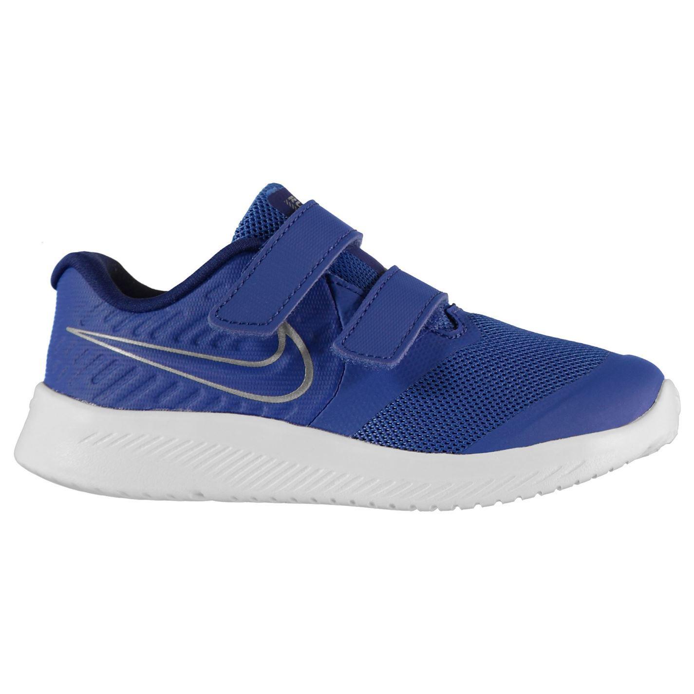 Nike Star Runner Shoe Infant Boys Black//White Trainers Footwear