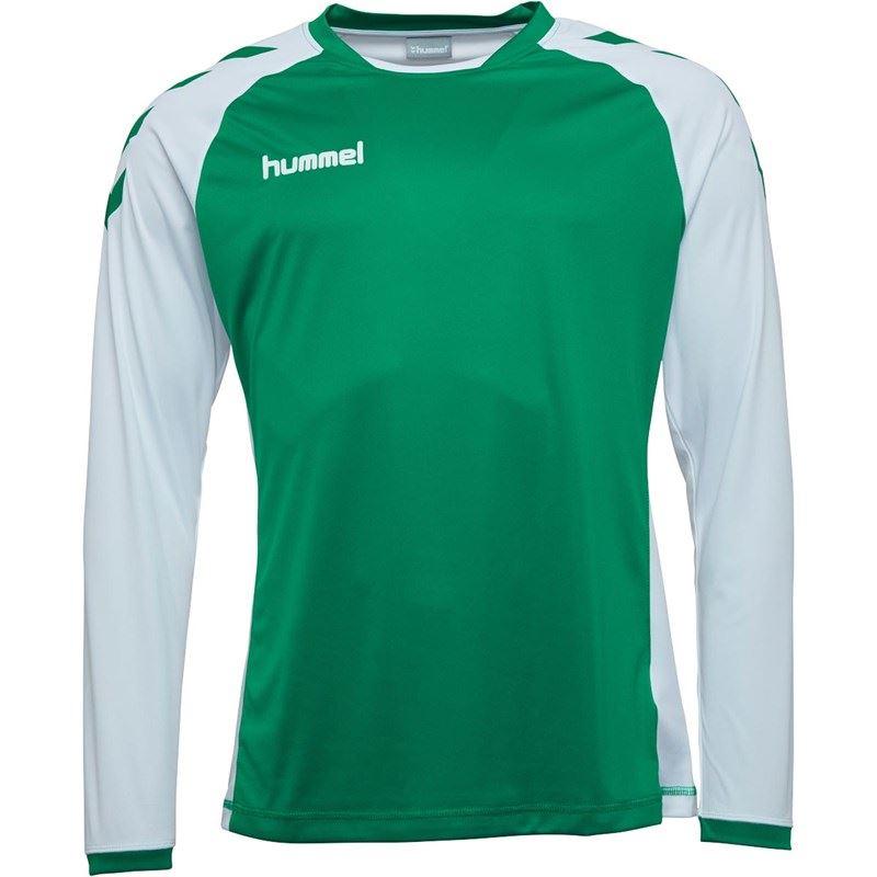 thumbnail 15 - Hummel-Long-Sleeve-Football-Shirt-Mens-Soccer-Jersey-Top-T-Shirt
