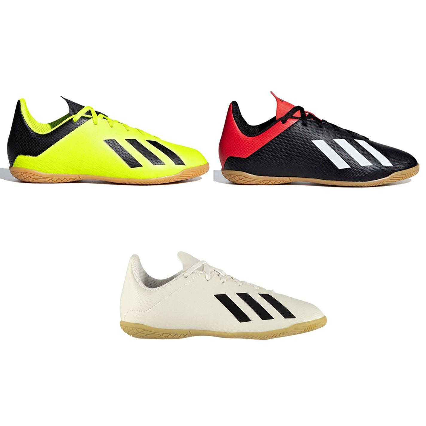 Details zu Adidas Tango X 18.4 Hallenfußball Trainers Kinder Fußball Schuhe Sneaker