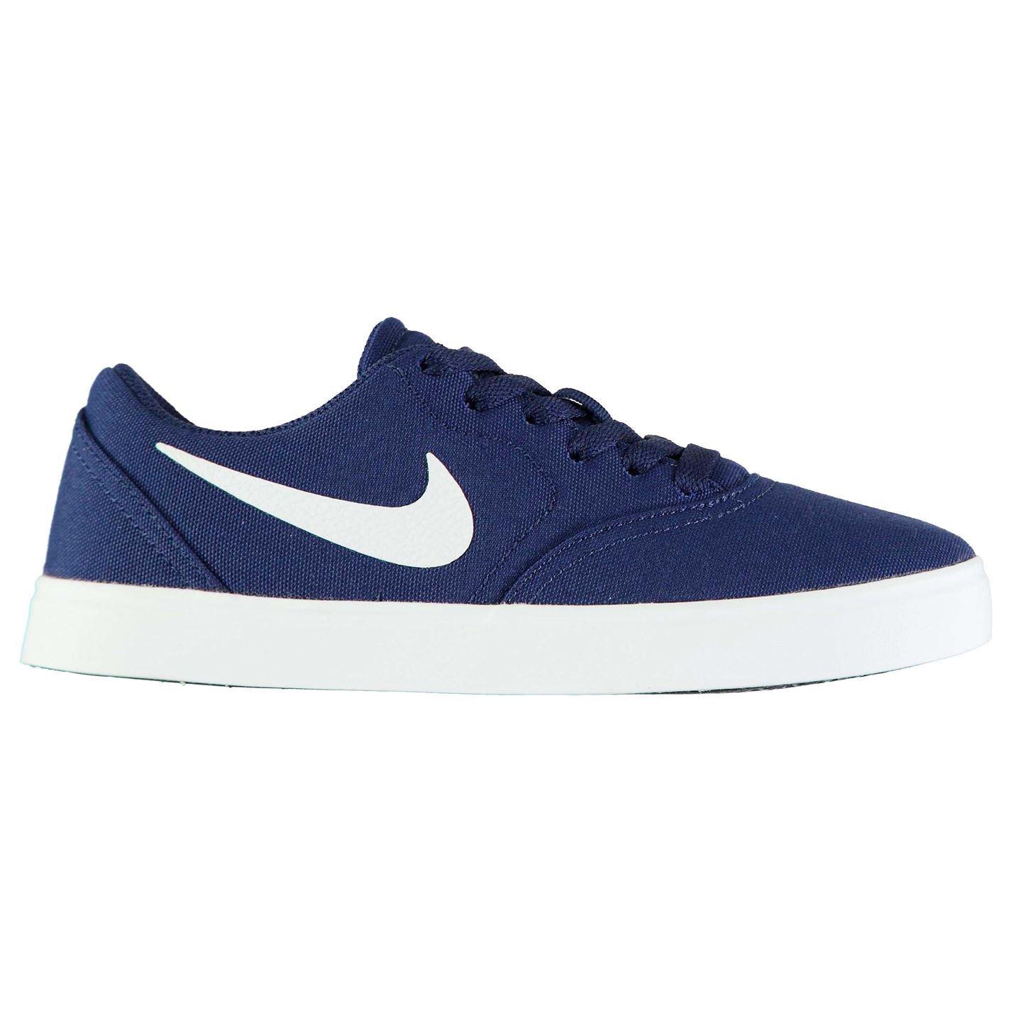 the latest d1919 d8102 ... Chaussures de Nike SB Check toile Skate Junior garçons formateurs  chaussures ...