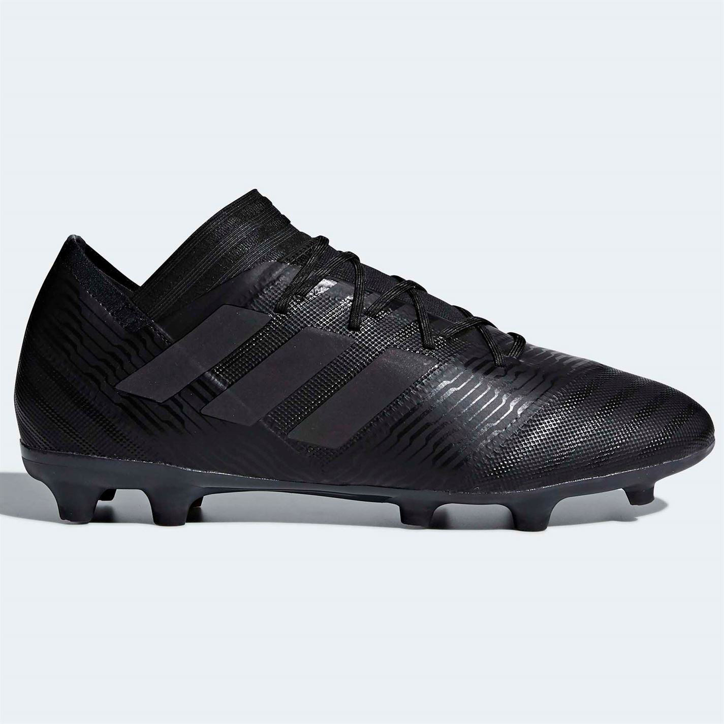 outlet store 99ff6 0cc7a ... adidas Nemeziz 17.2 FG Firm Ground Football Boots Mens Black Soccer  Cleats Shoes ...
