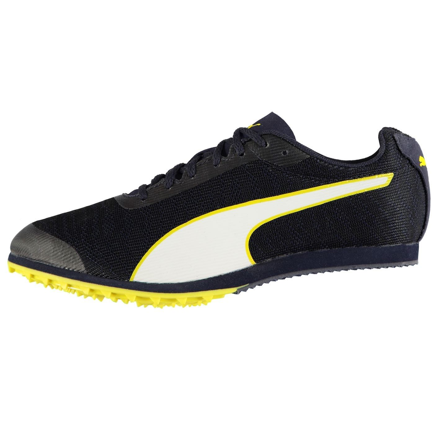 Details about Puma evoSPEED Star 6 Track Spikes Running Mens Trainers  Black/Yellow Shoes