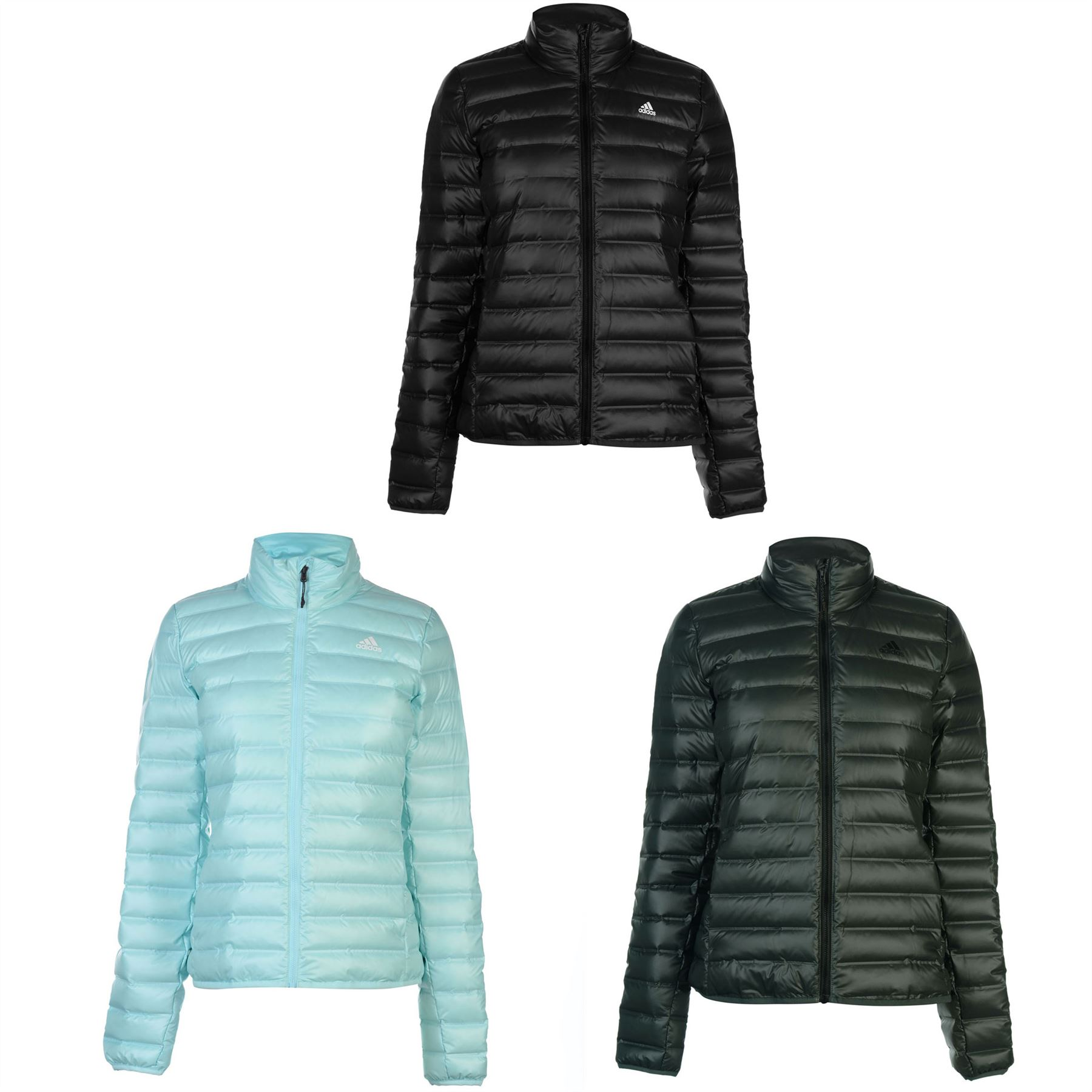 Details about adidas Varilite Jacket Womens Coats Outerwear