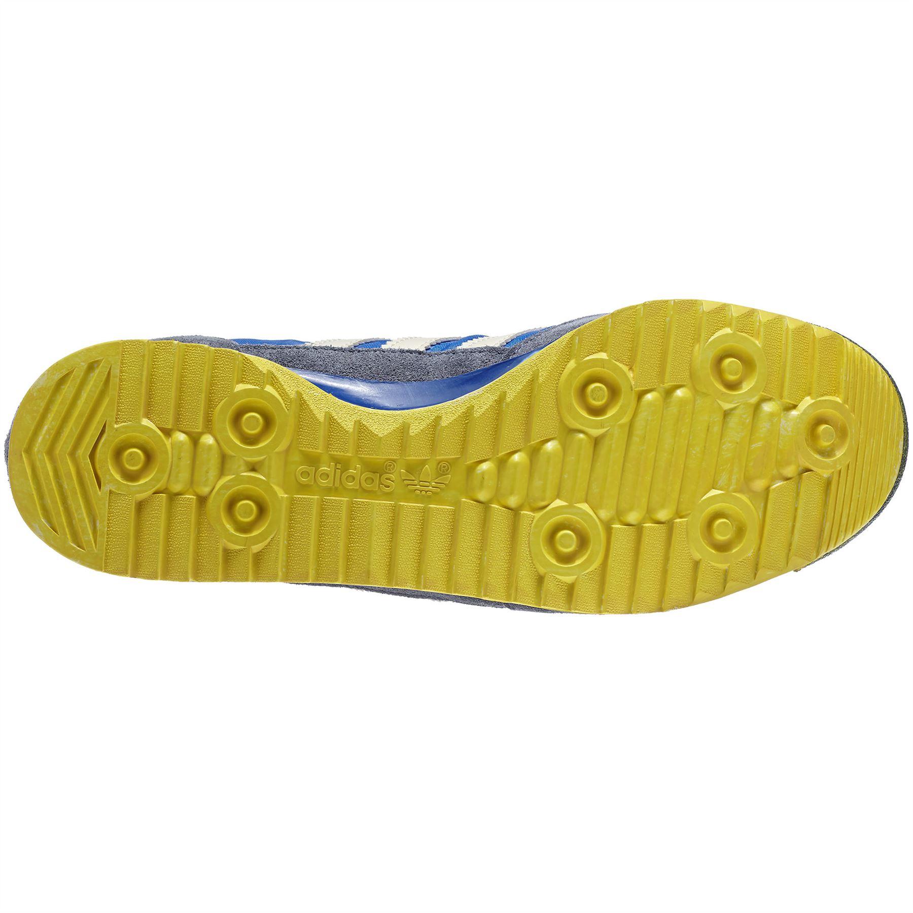812c0ecfb3f8 adidas Originals SL 72 Vintage Trainers Mens Blue Retro Sneakers Running  Shoes