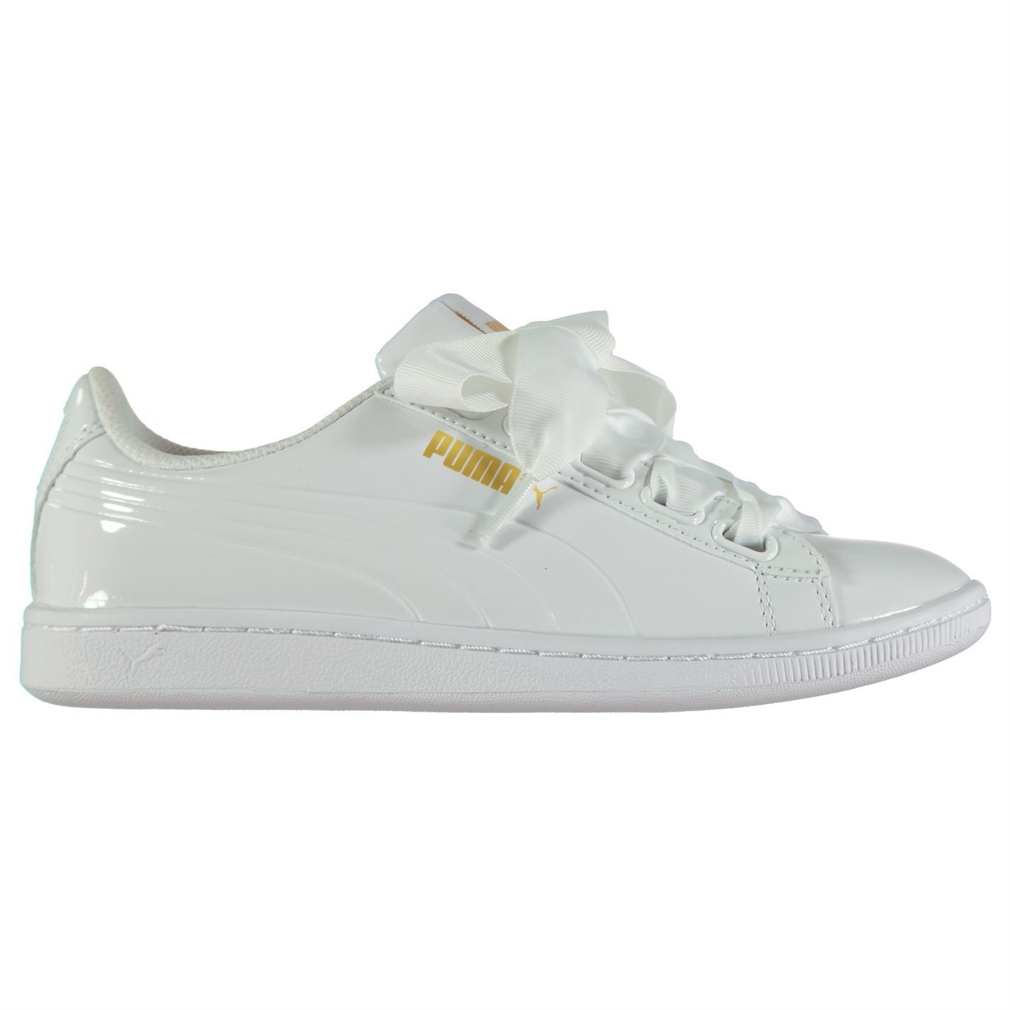 ... Puma Vikky Ribbon Trainers Womens Wht Sports Trainers Sneakers ... a5629cf46
