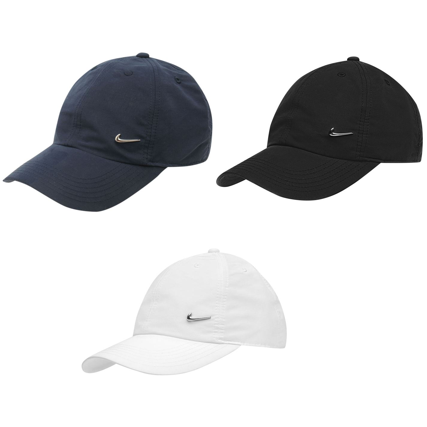 0b44b57c Nike Met Swoosh Cap Junior Boys Baseball Hat Headwear | eBay