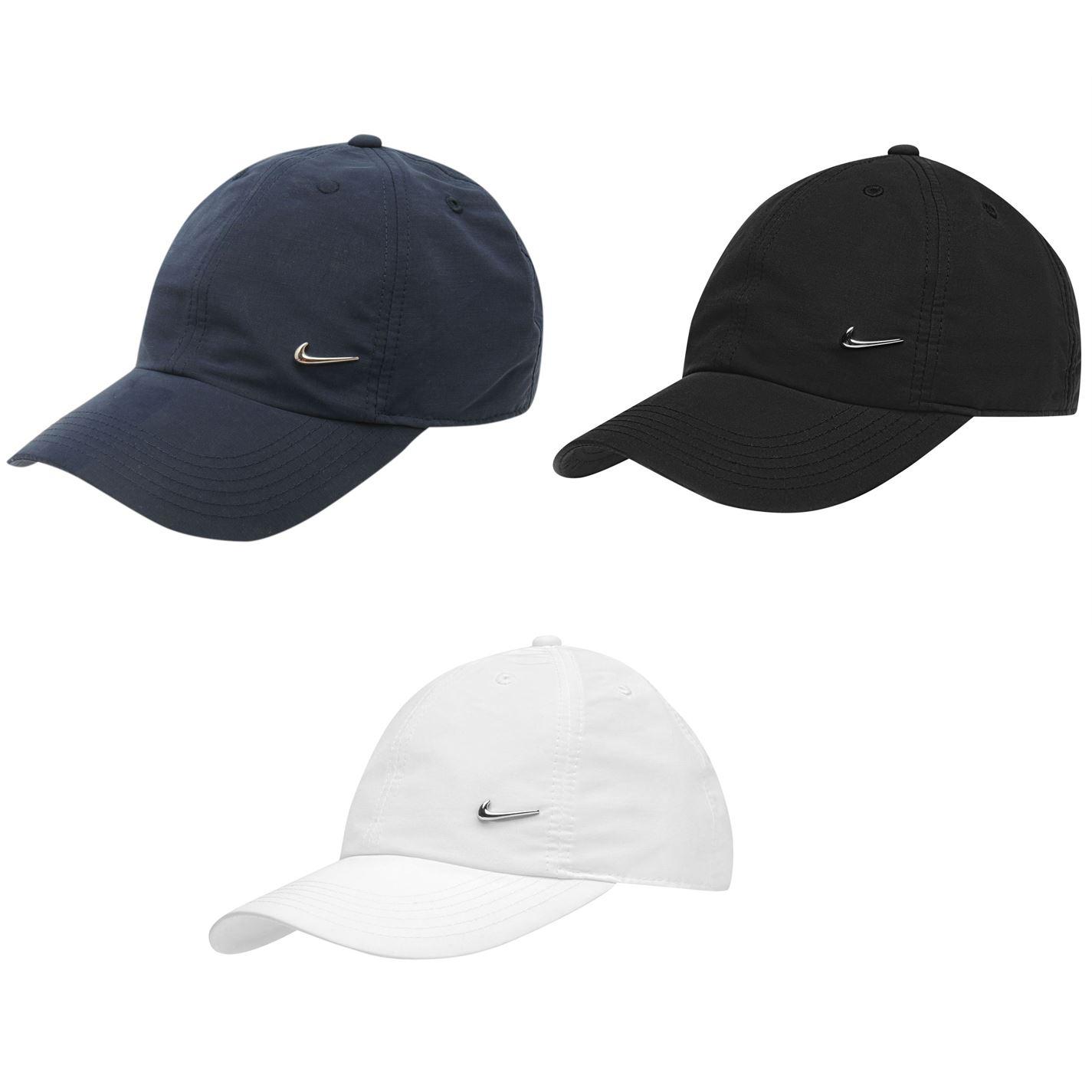 297590c73d1f4 Details about Nike Met Swoosh Cap Junior Boys Baseball Hat Headwear