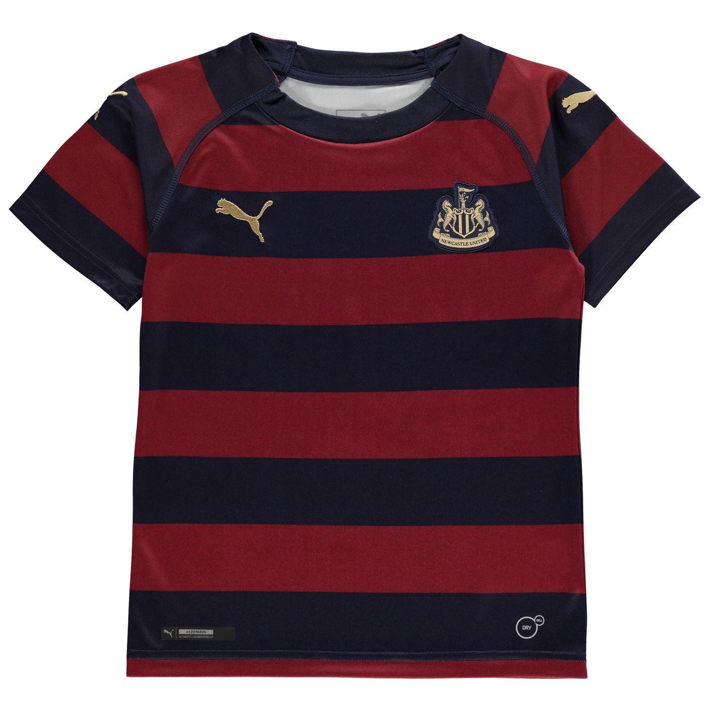 wholesale dealer f34cf a74de Details about Puma Newcastle United Away Jersey 2018 2019 Juniors Navy  Football Soccer Shirt