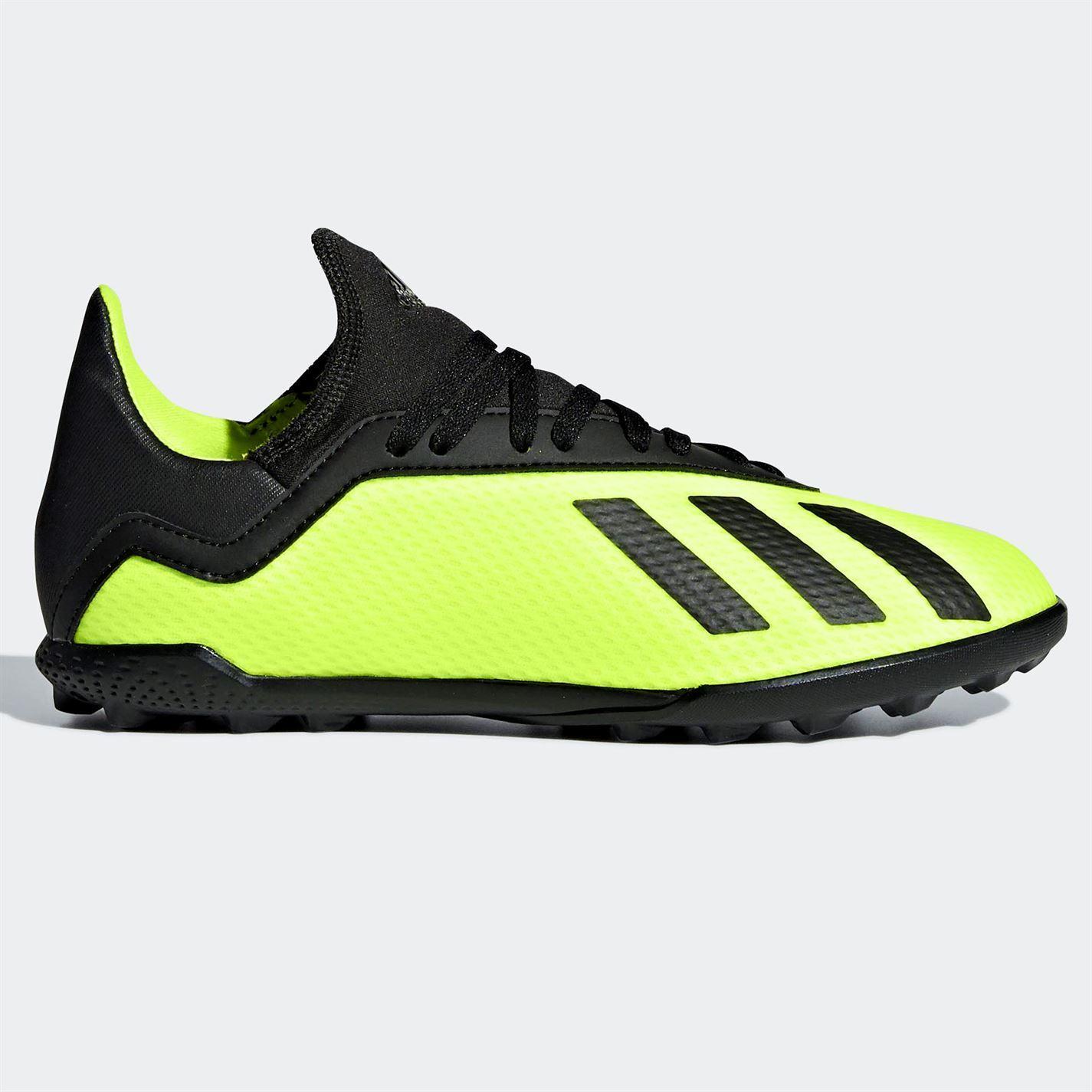 Details zu Adidas X Tango 18.3 Teppchrasen Fußballschuhe Kinder Fußball Schuhe Sneaker